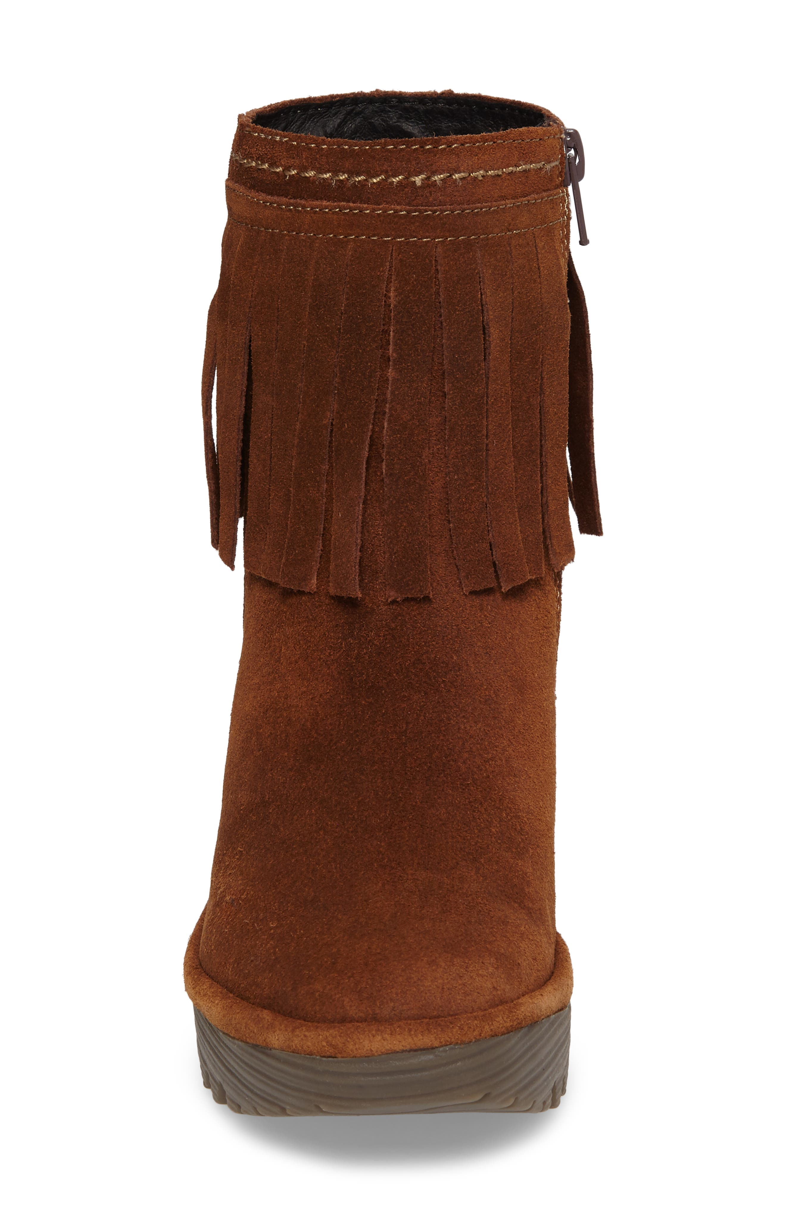 Alternate Image 4  - Fly London Yagi Fringe Boot (Women)