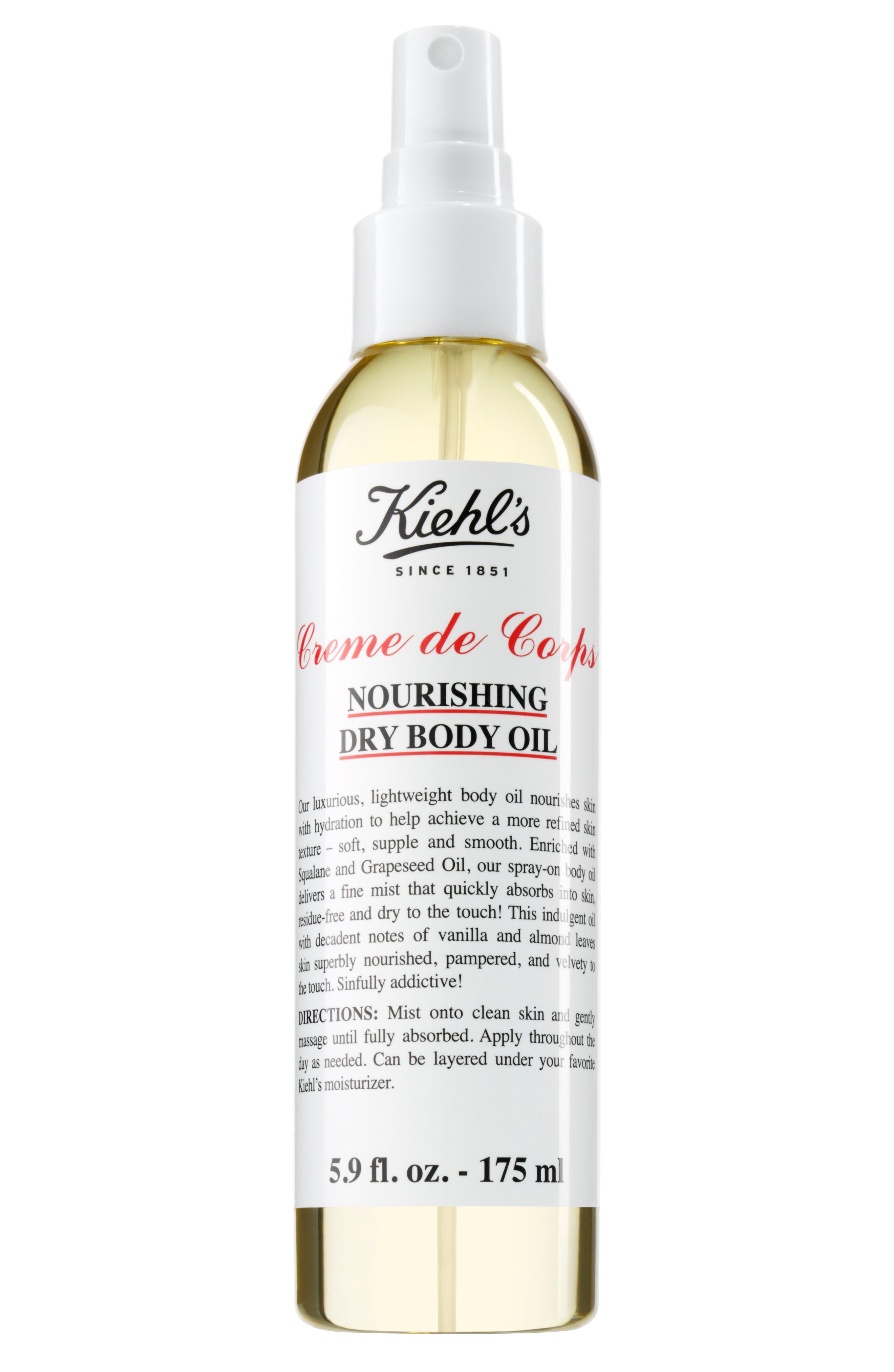 Alternate Image 1 Selected - Kiehl's Since 1851 Creme de Corps Nourishing Dry Body Oil