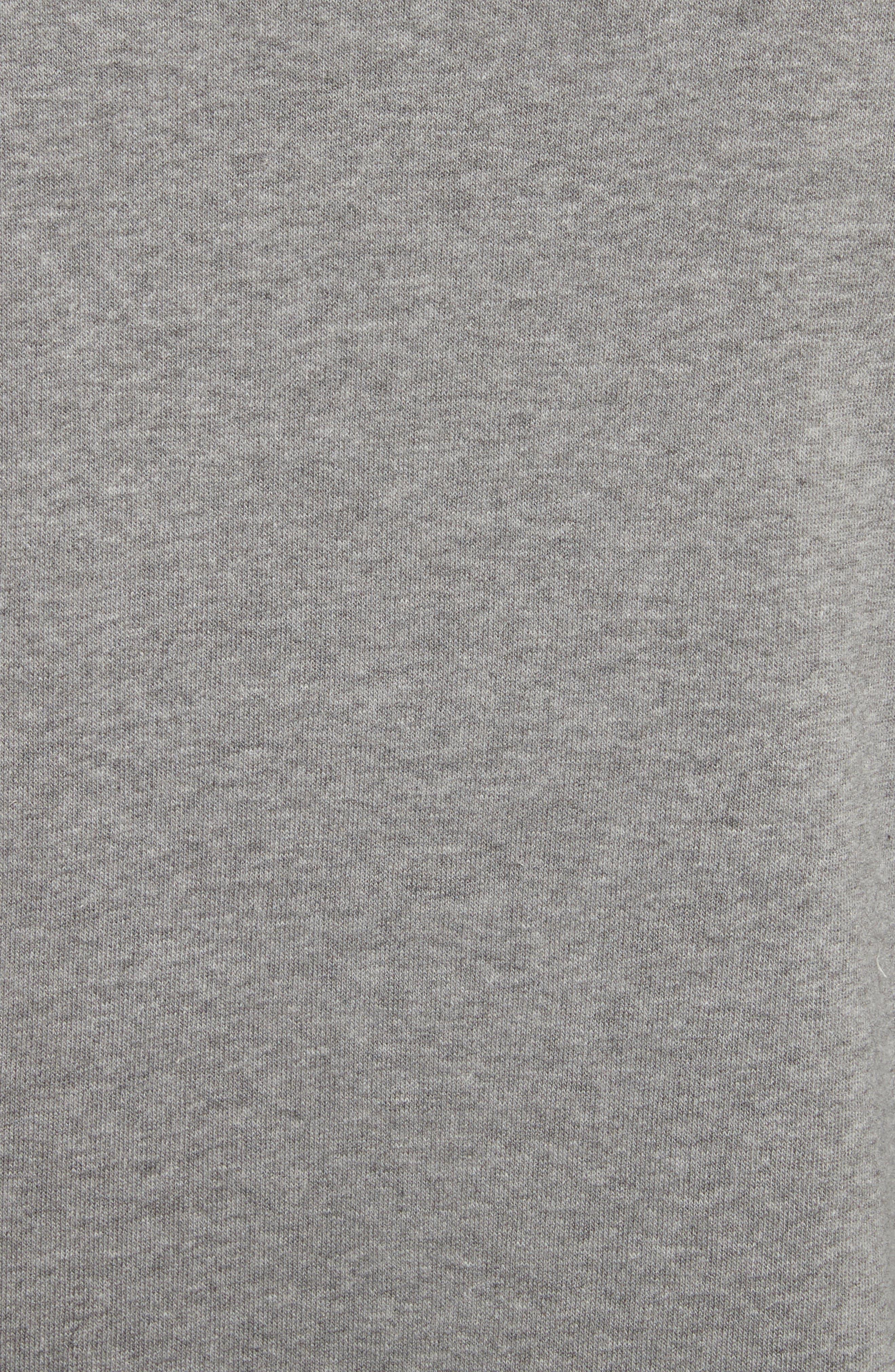 Lips & Hips Sweatshirt,                             Alternate thumbnail 5, color,                             Medium Heather Grey