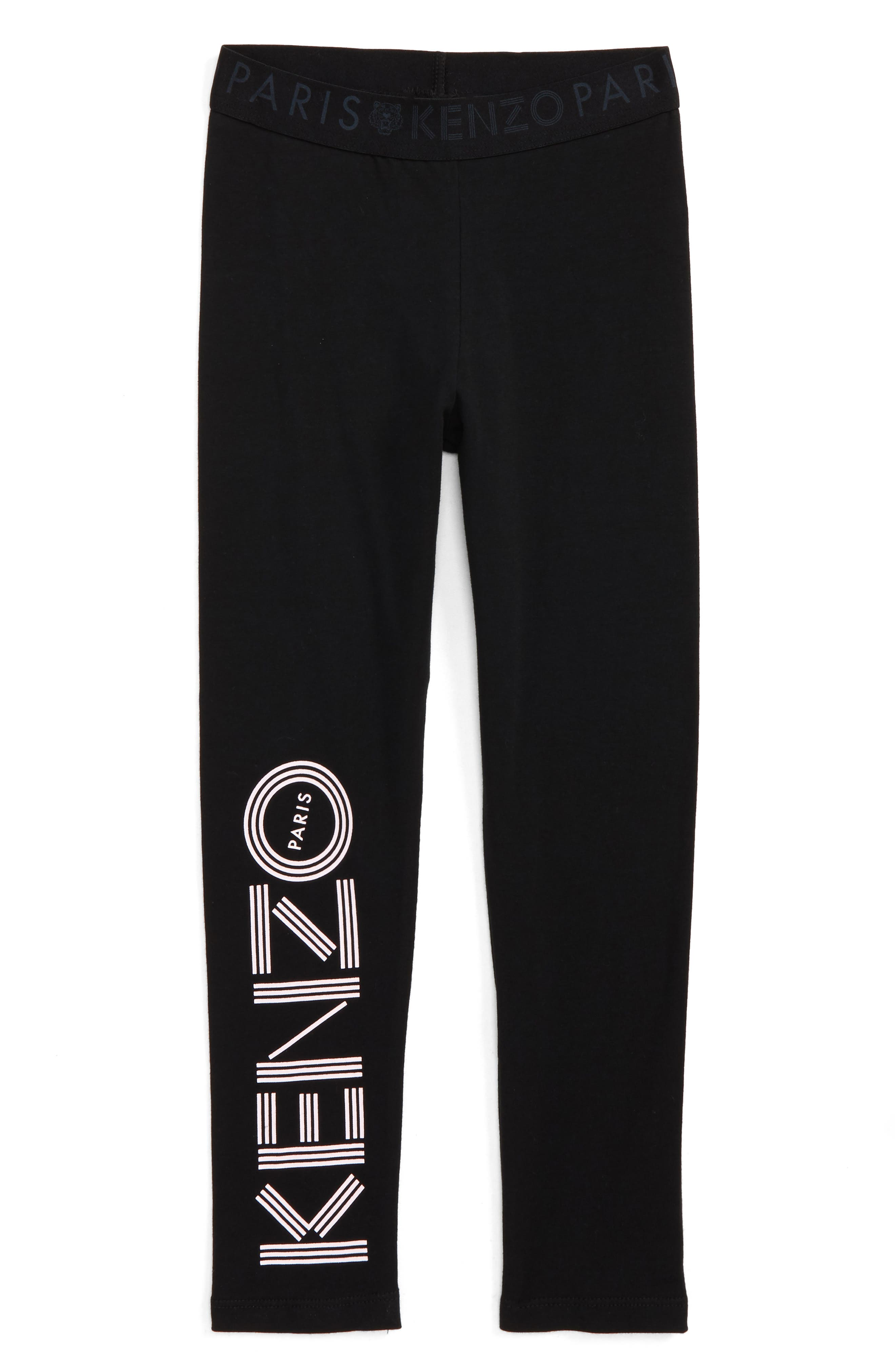 Alternate Image 1 Selected - KENZO Logo Leggings (Toddler Girls, Little Girls & Big Girls)