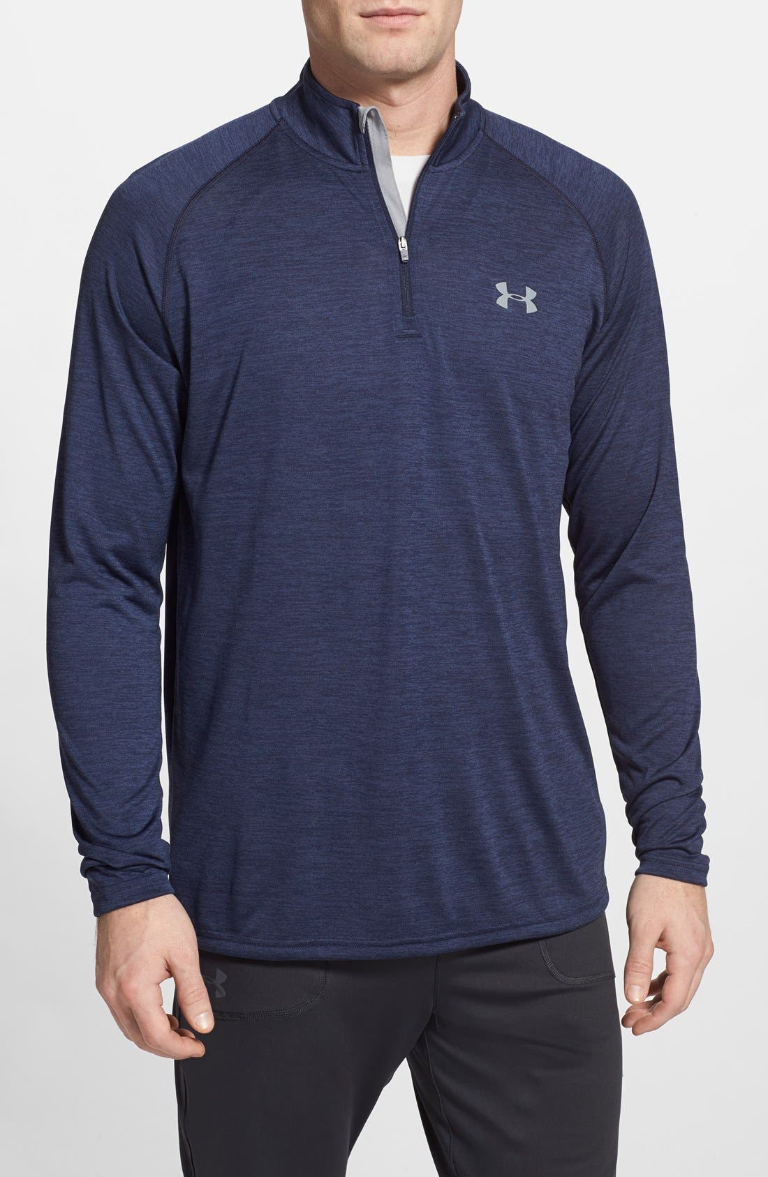 Alternate Image 1 Selected - Under Armour 'Tech' Quarter Zip Pullover