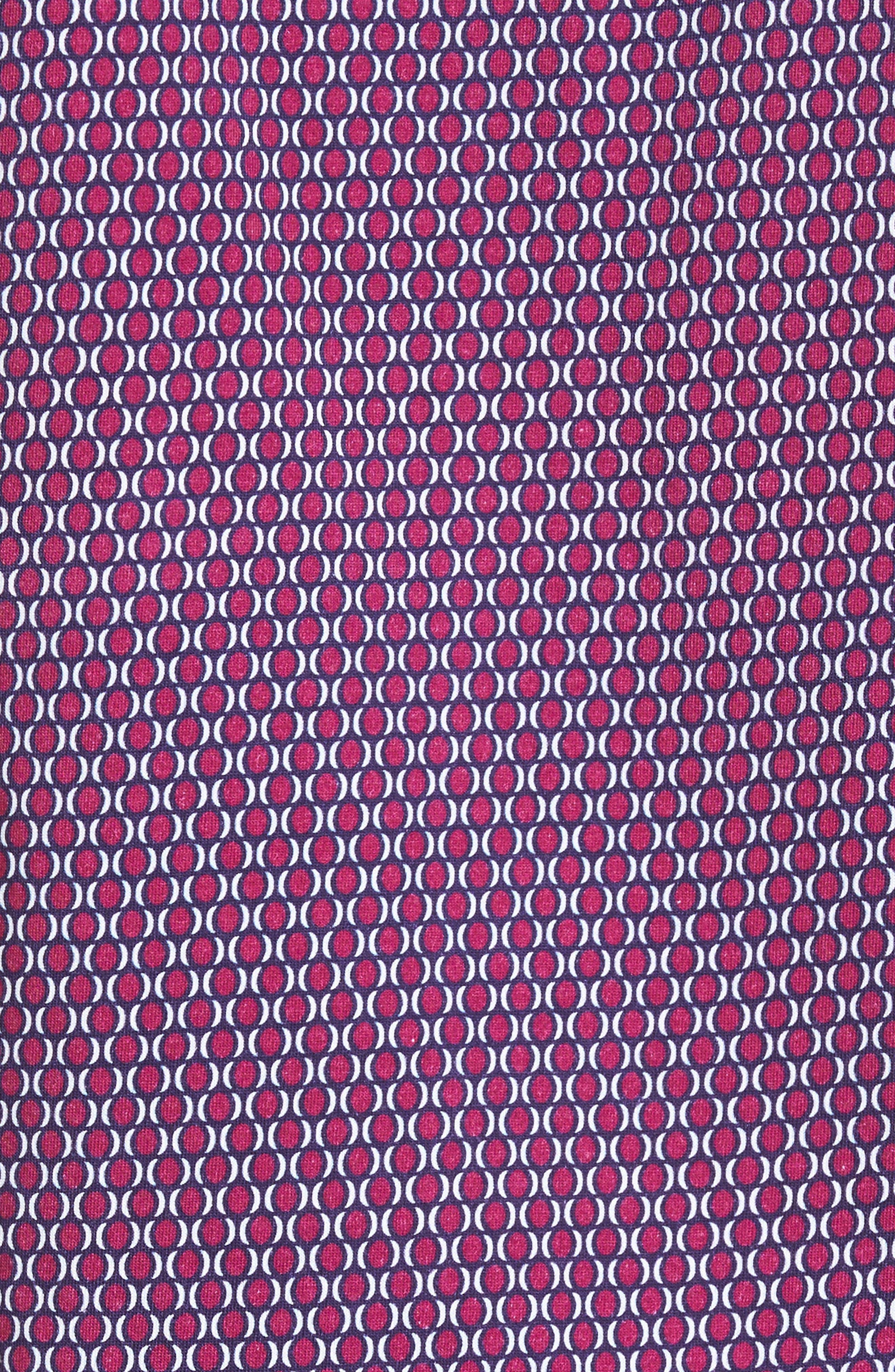 Alternate Image 5  - Stone Rose Slim Fit Geo Knit Sport Shirt