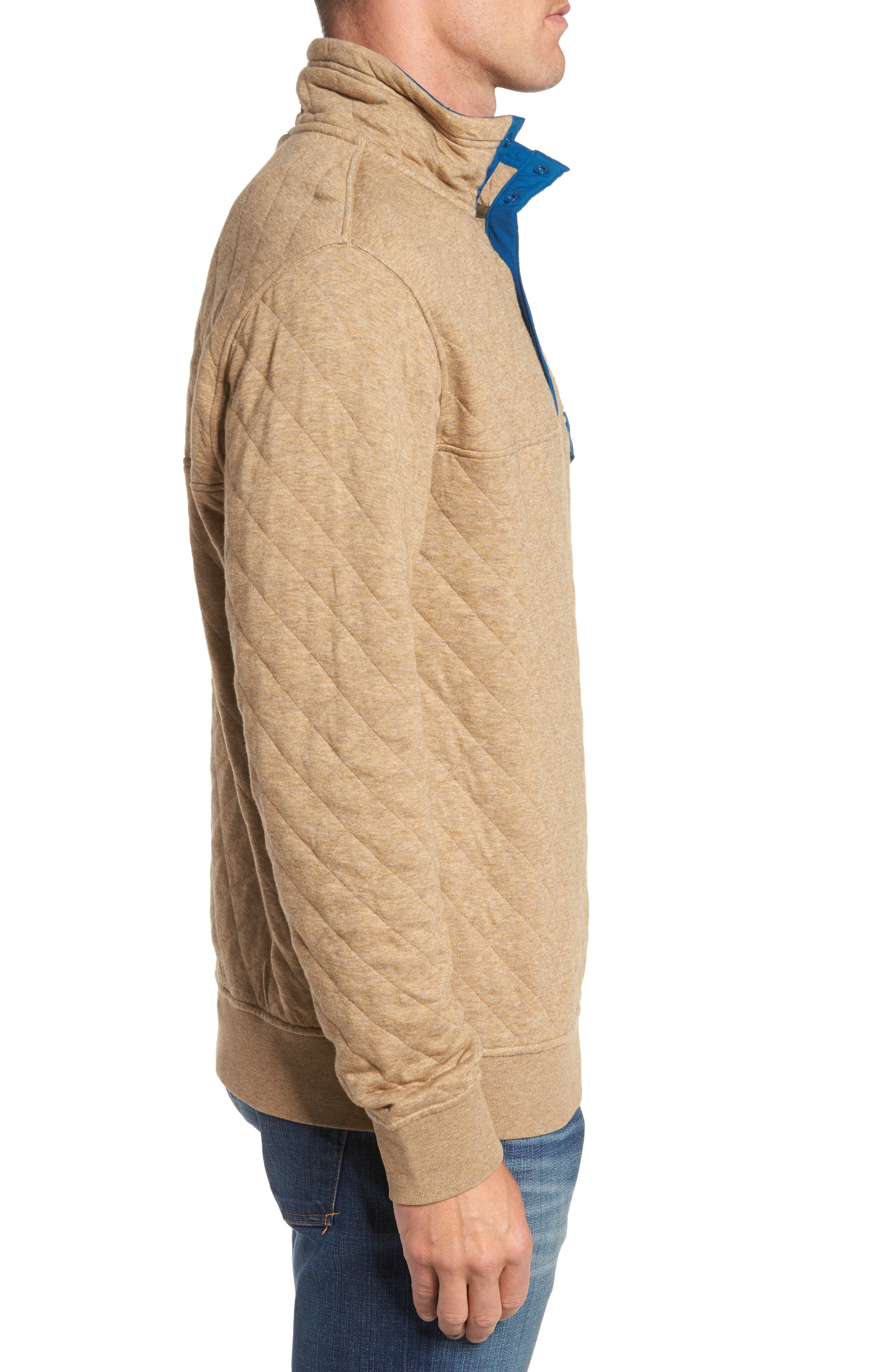 Alternate Image 3  - Patagonia Snap-T® Quilted Fleece Pullover