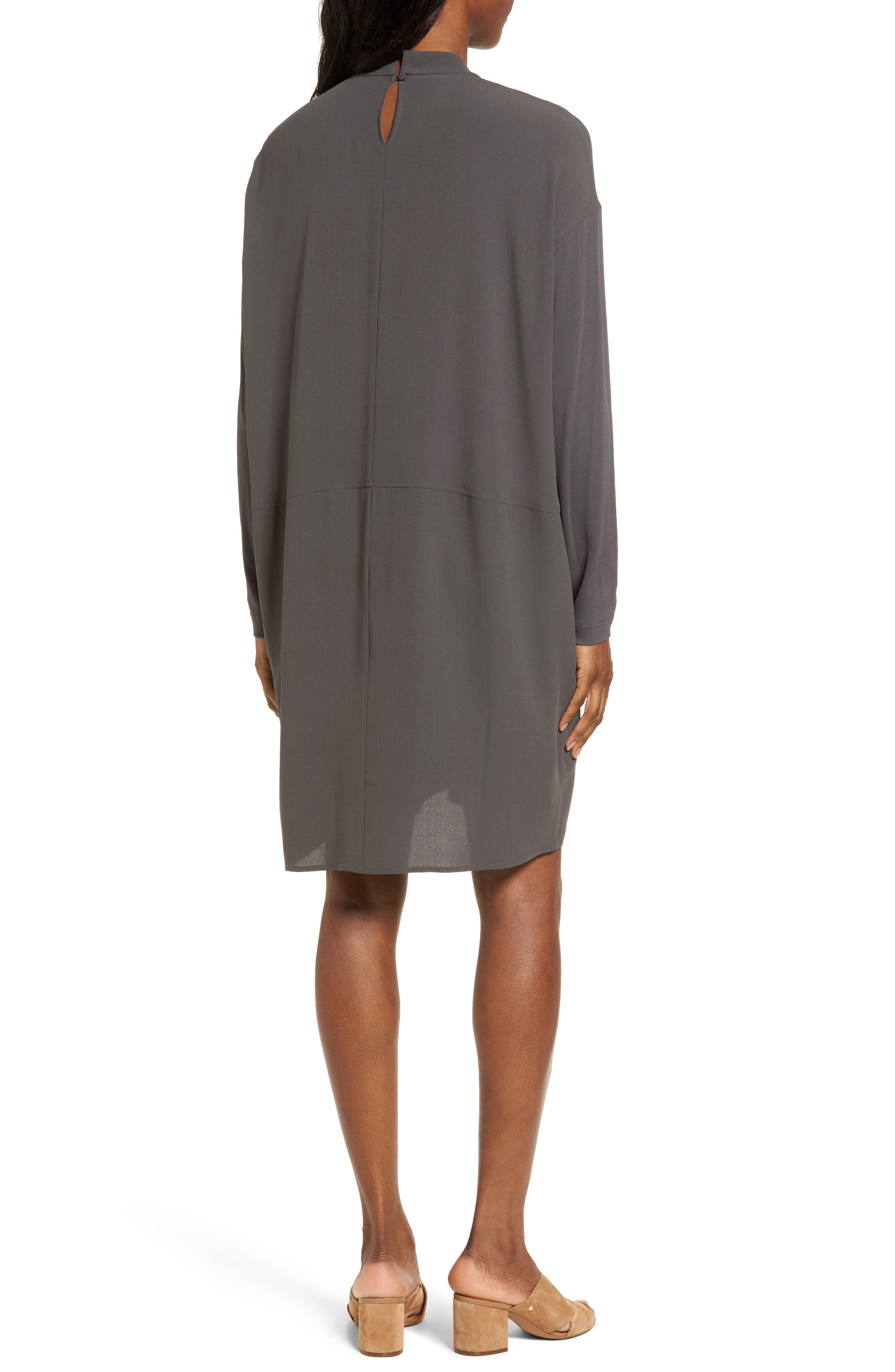 Alternate Image 2  - Eileen Fisher Silk Shift Dress