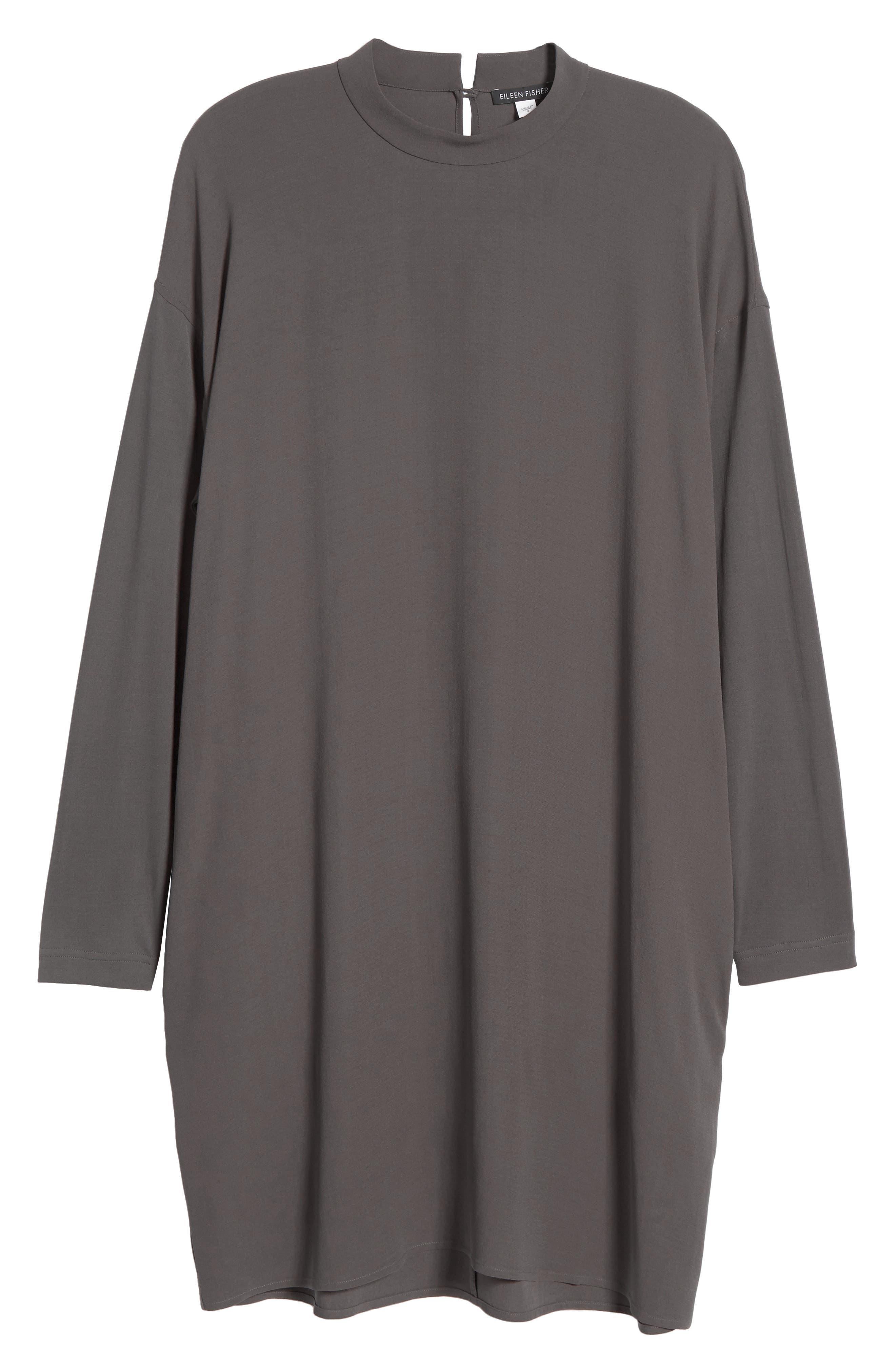 Alternate Image 6  - Eileen Fisher Silk Shift Dress