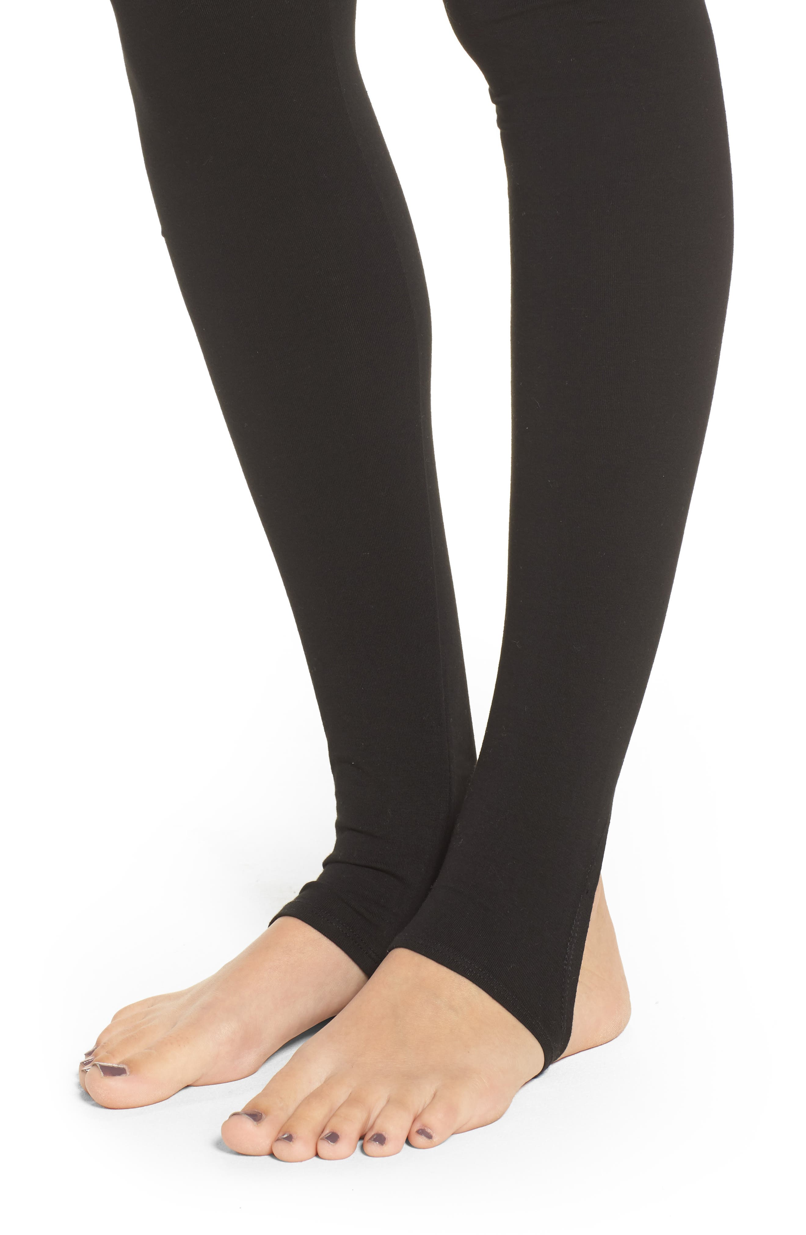 Alternate Image 4  - Socialite Stirrup Leggings