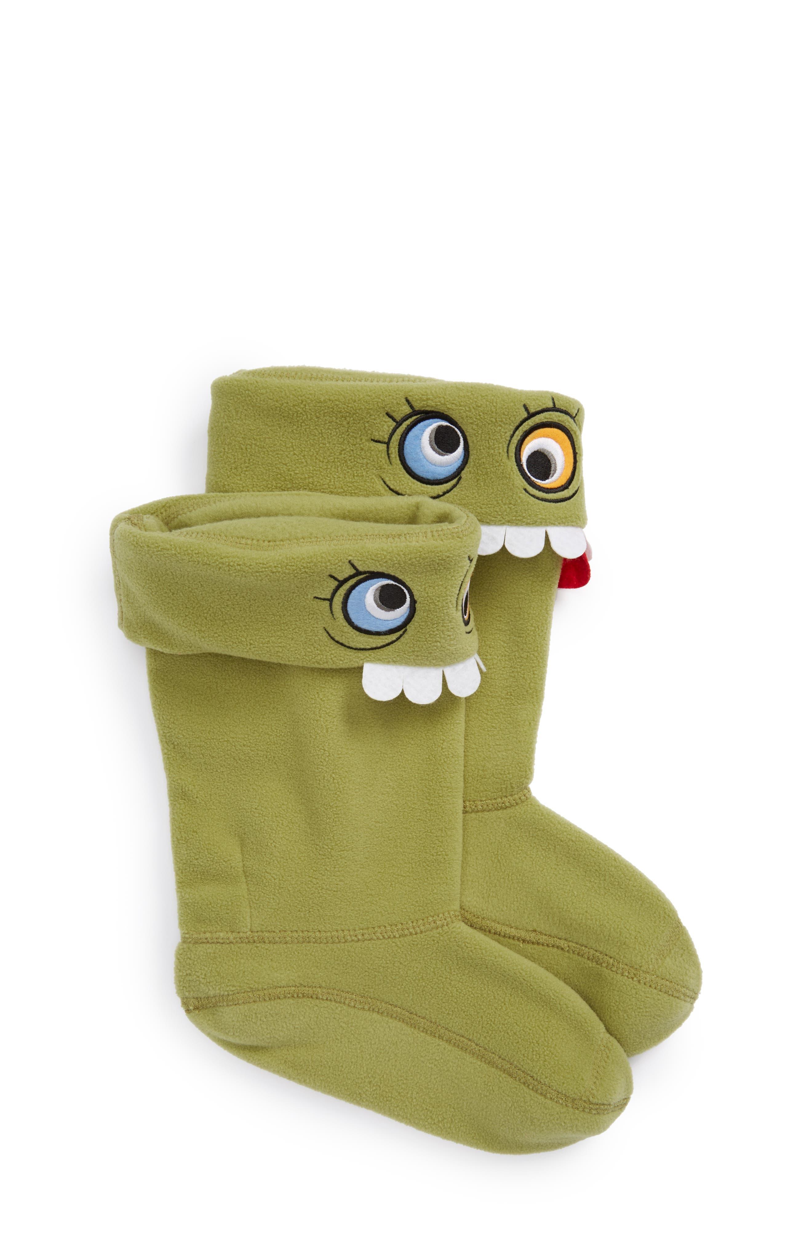 Main Image - Hunter Alien Cuff Boot Socks (Baby, Walker, Toddler, Little Kid & Big Kid)