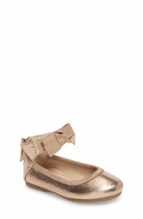 2aa96839b2 Kenneth Cole New York Rose Bow Ballet Flat (Walker, Toddler, Little Kid &  Big Kid)