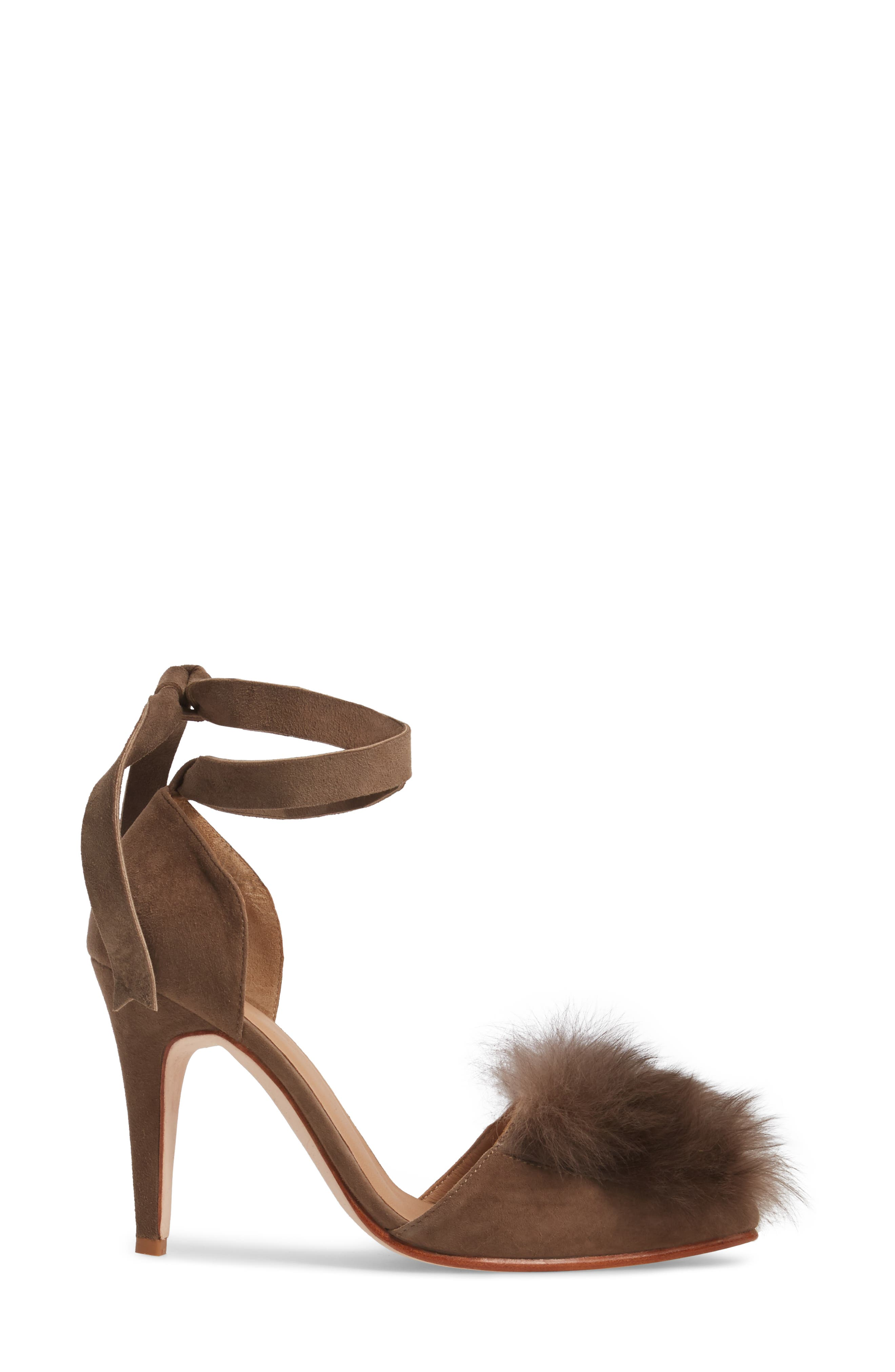 Alternate Image 3  - Huma Blanco Danna Genuine Alpaca Fur Sandal (Women)