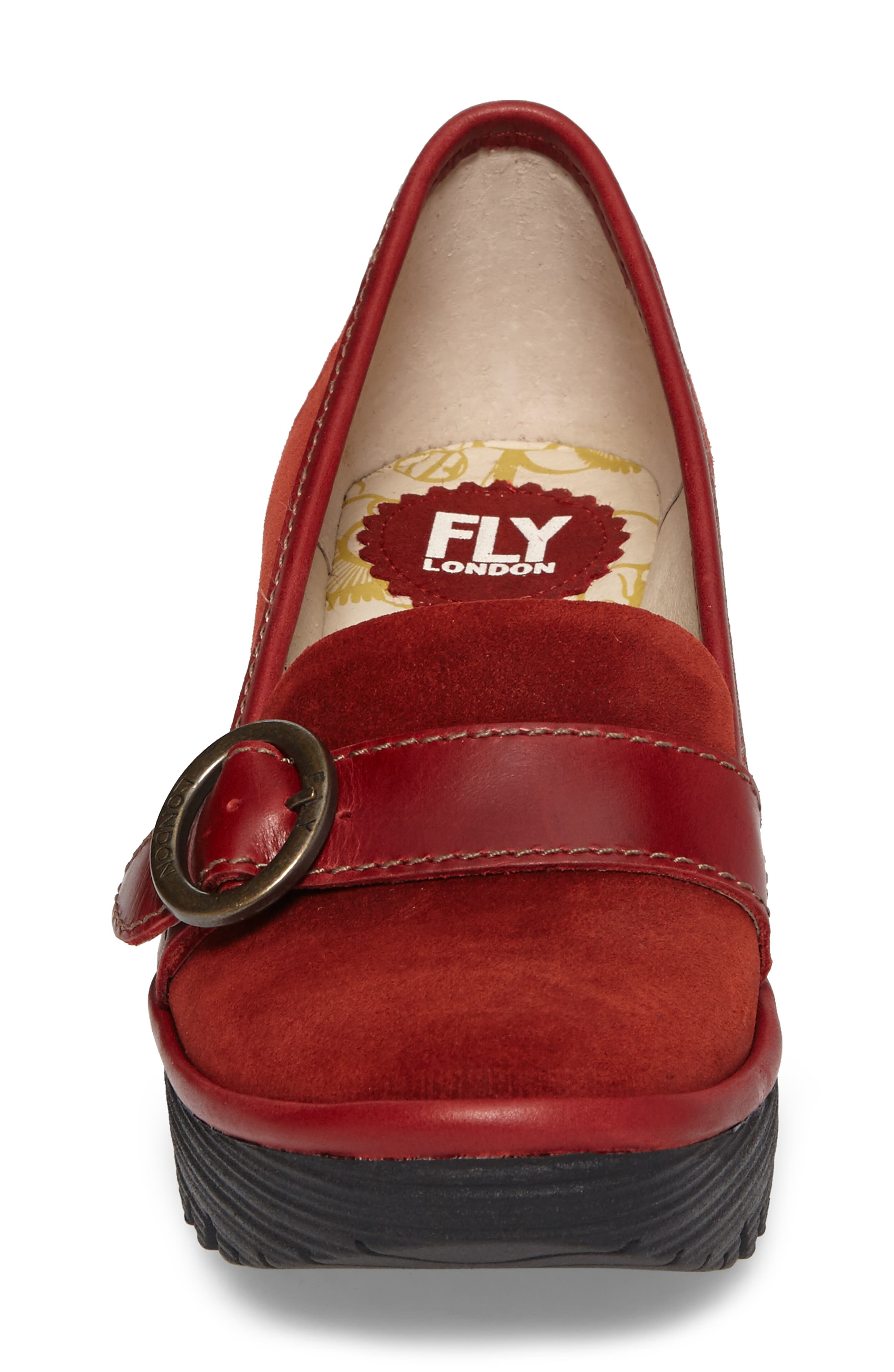 Alternate Image 4  - Fly London Yond Wedge (Women)
