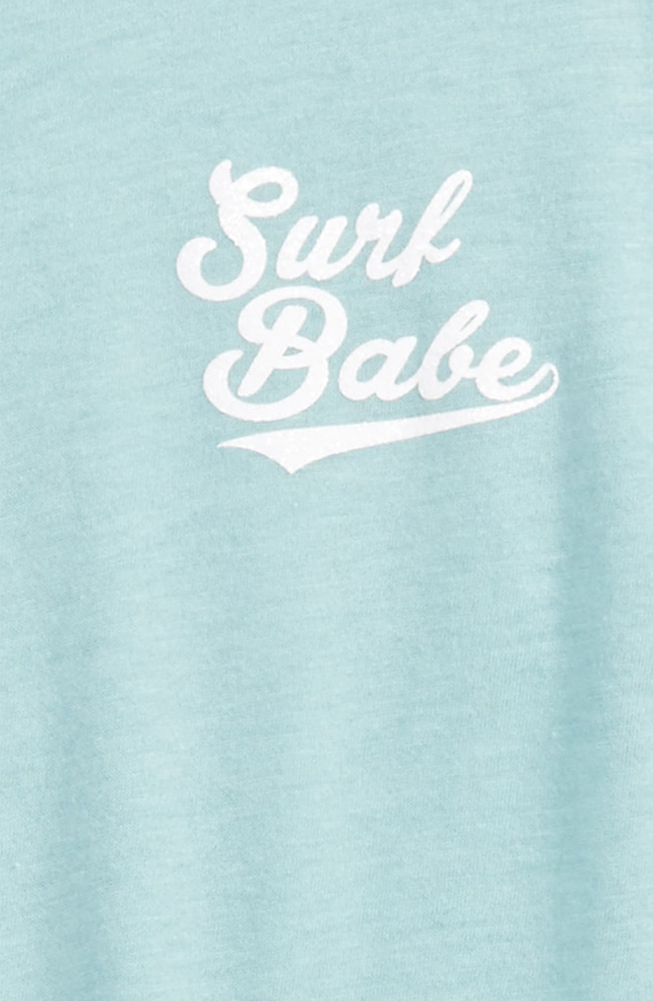 Surf Babe Graphic Tank,                             Alternate thumbnail 2, color,                             Alpine