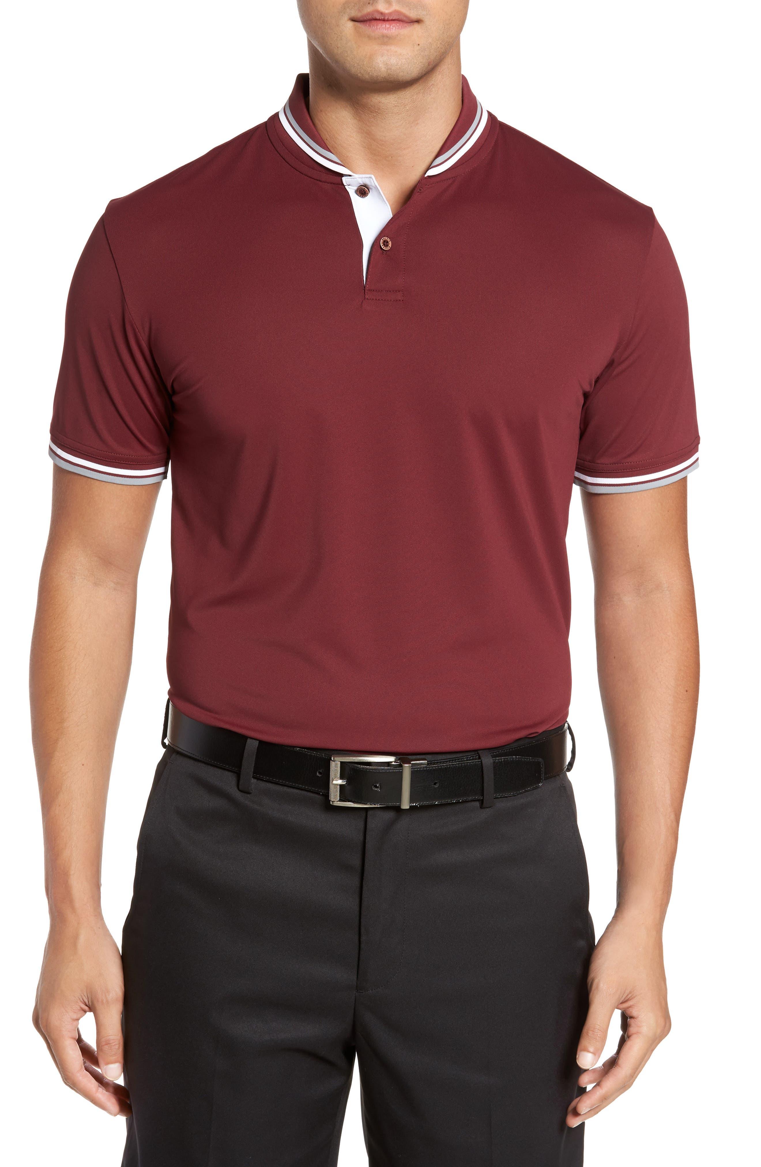 Bobby Jones Bravo Collar Piqué Polo