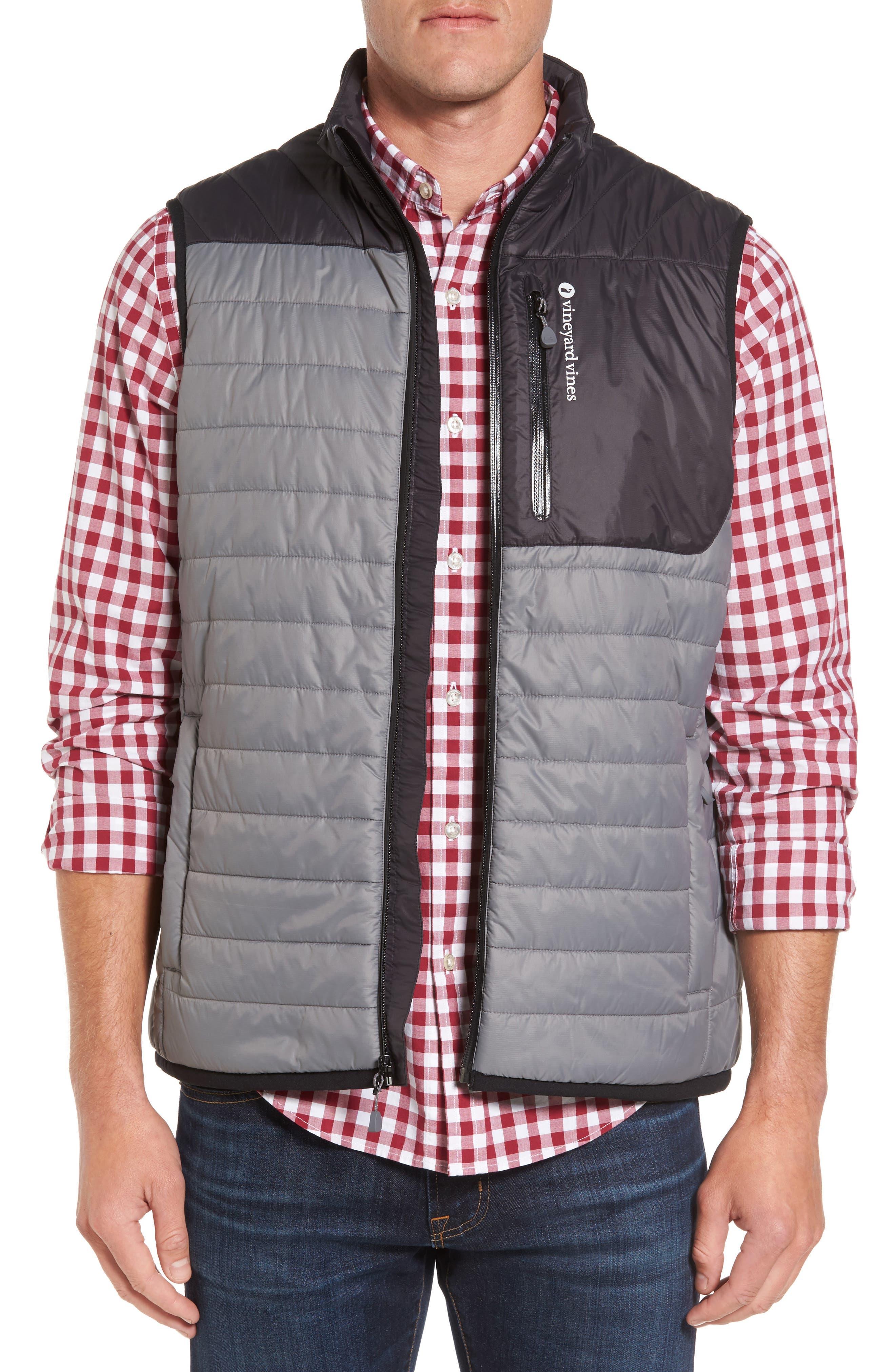 vineyard vines Mountain Weekend Colorblock PrimaLoft® Vest