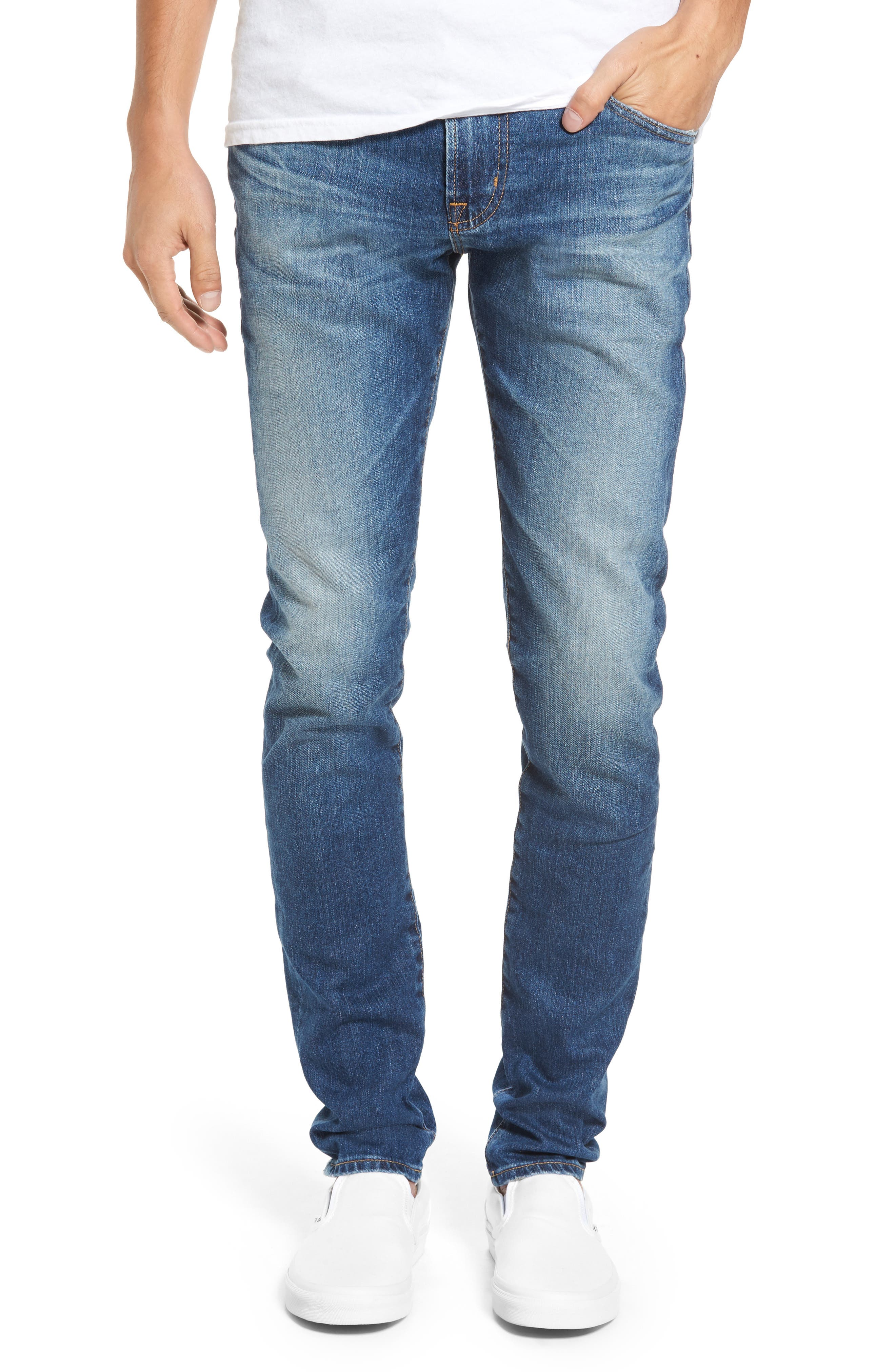 AG Jeans Stockton Skinny Fit Jeans (16 Years Rave)
