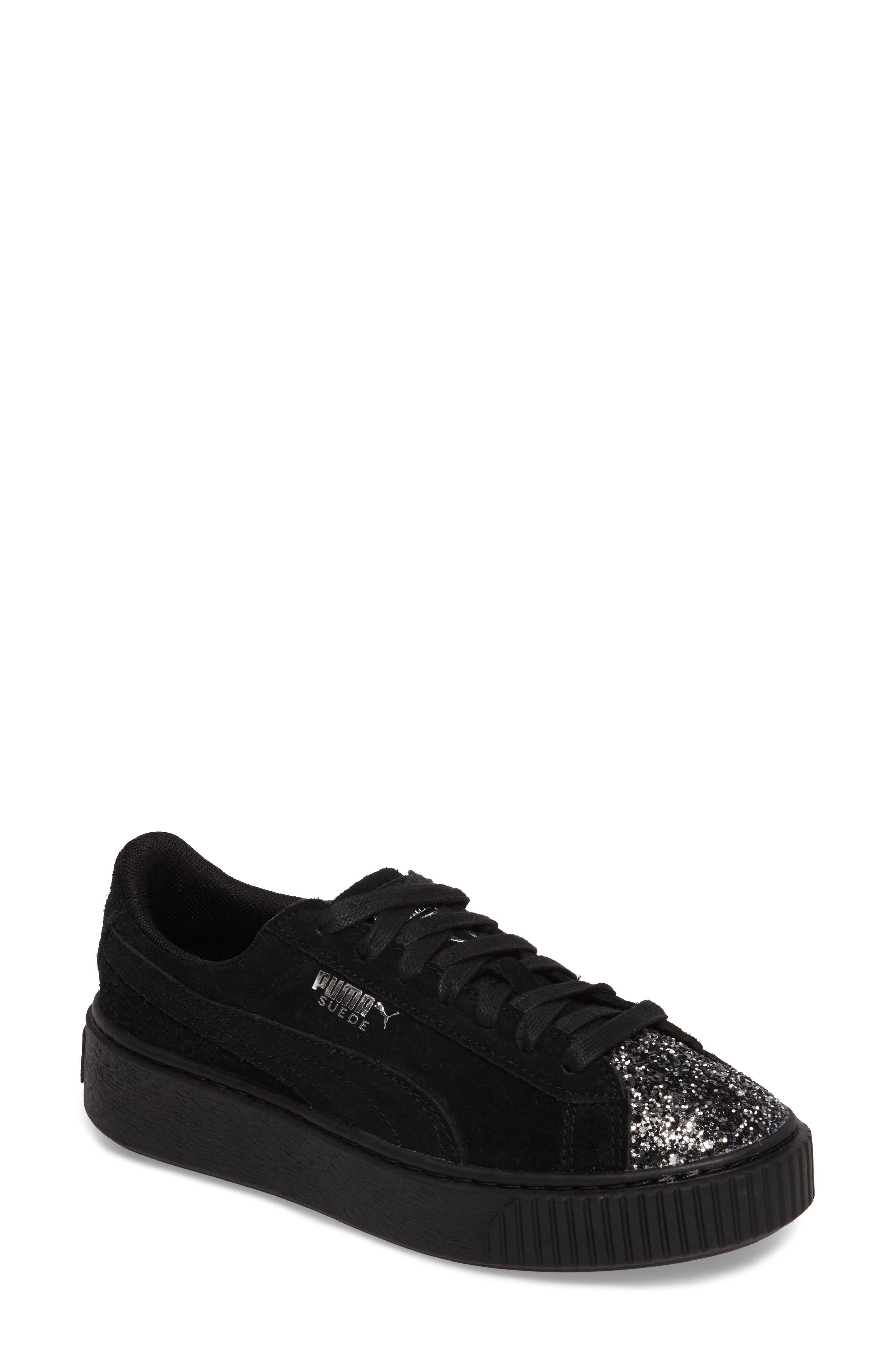 Alternate Image 1 Selected - PUMA Elemental Platform Sneaker (Women)