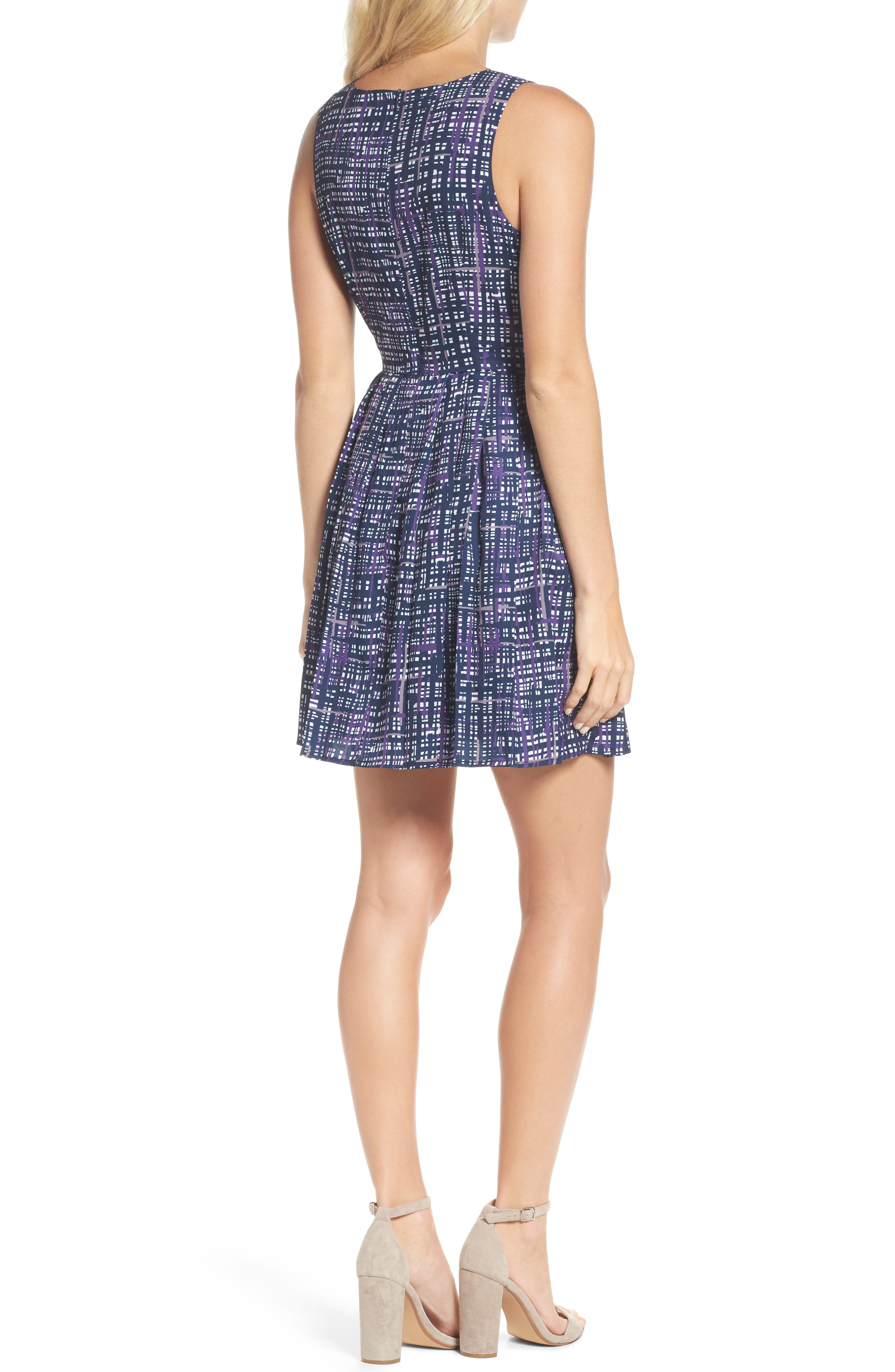 Alternate Image 2  - Felicity & Coco Lolka Fit & Flare Dress (Nordstrom Exclusive)