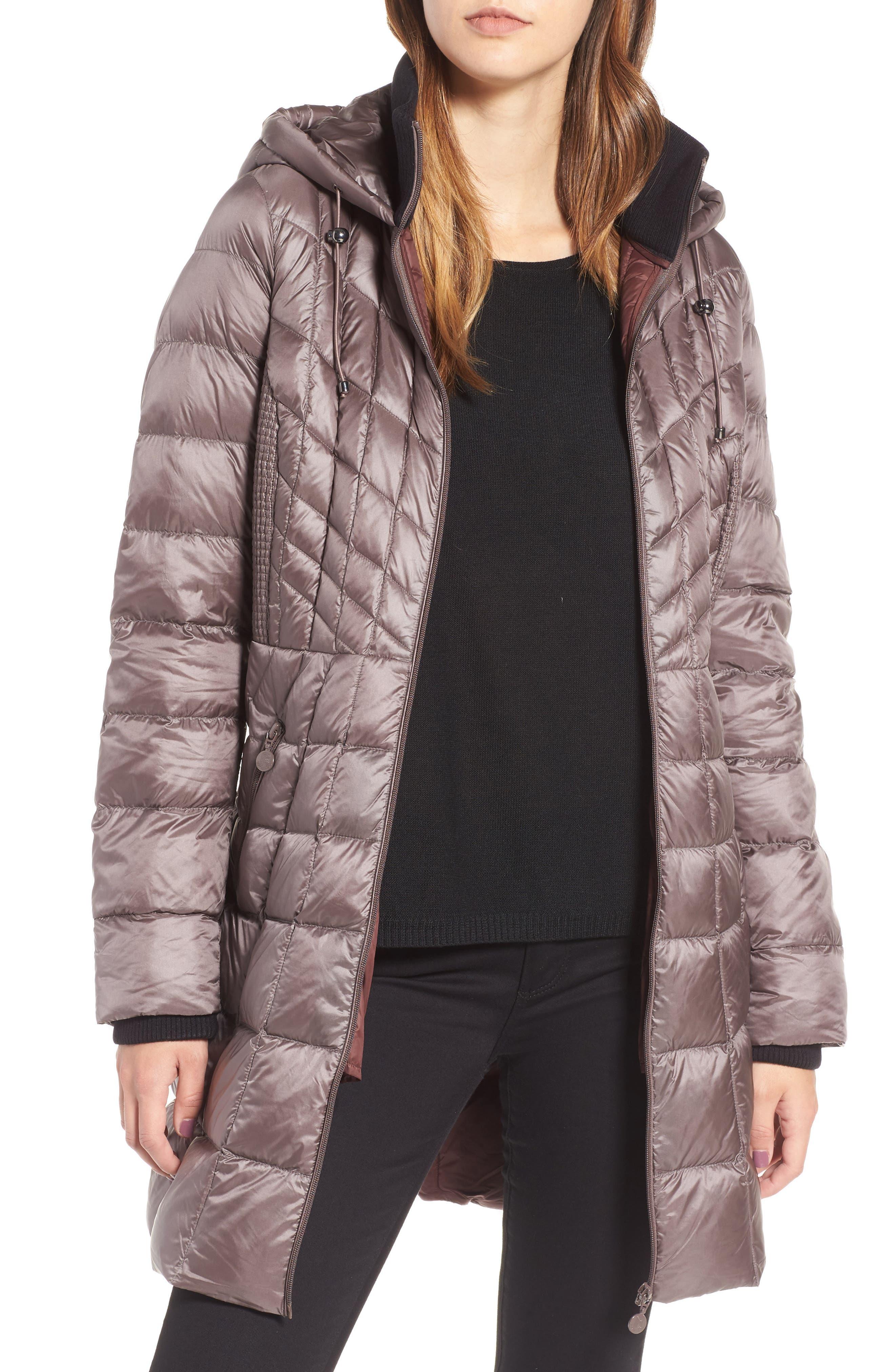 Main Image - Bernardo Down & PrimaLoft® Coat (Regular & Petite)