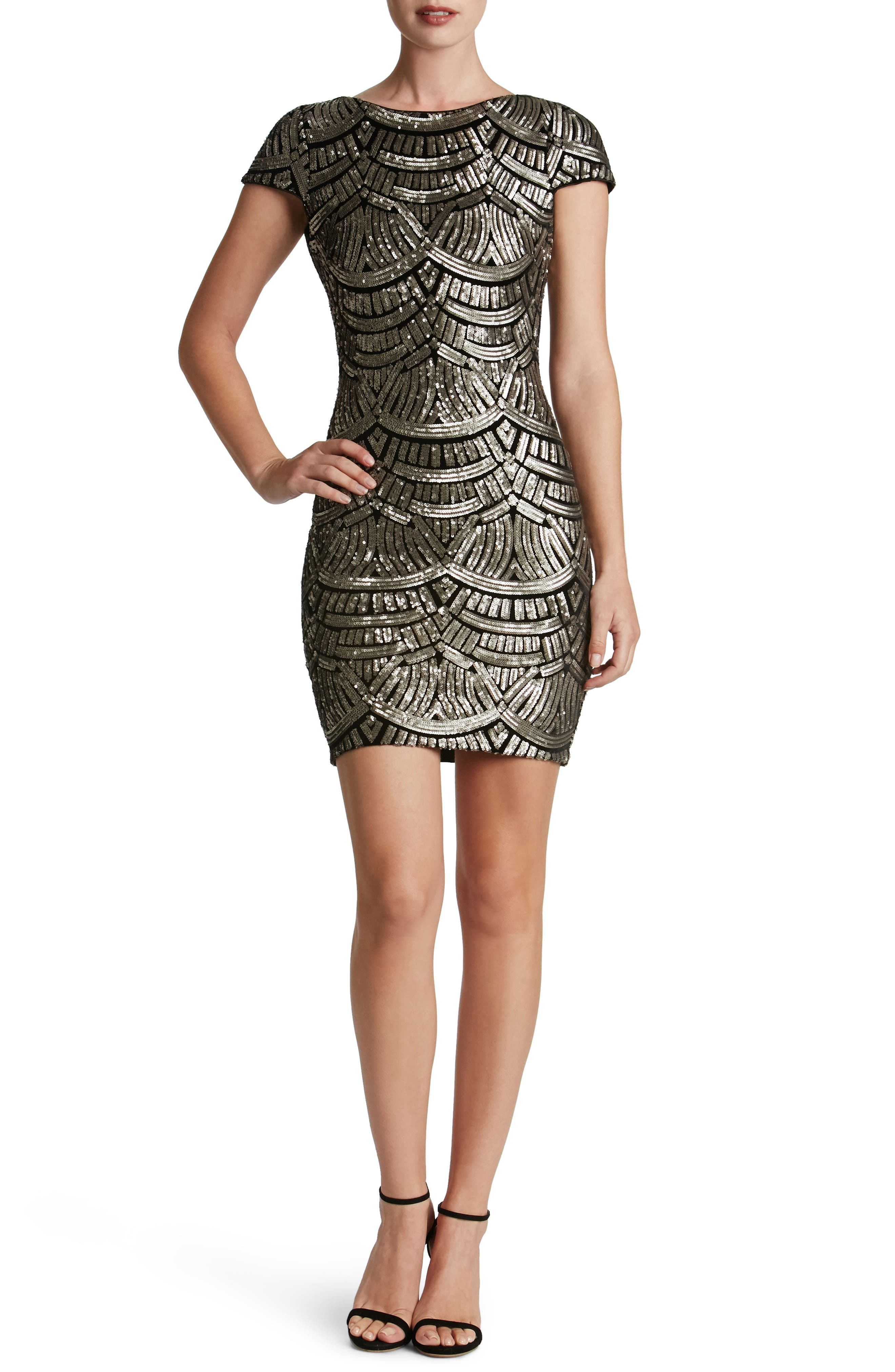 Alternate Image 1 Selected - Dress the Population Tabitha Sequin Body-Con Dress (Nordstrom Exclusive)