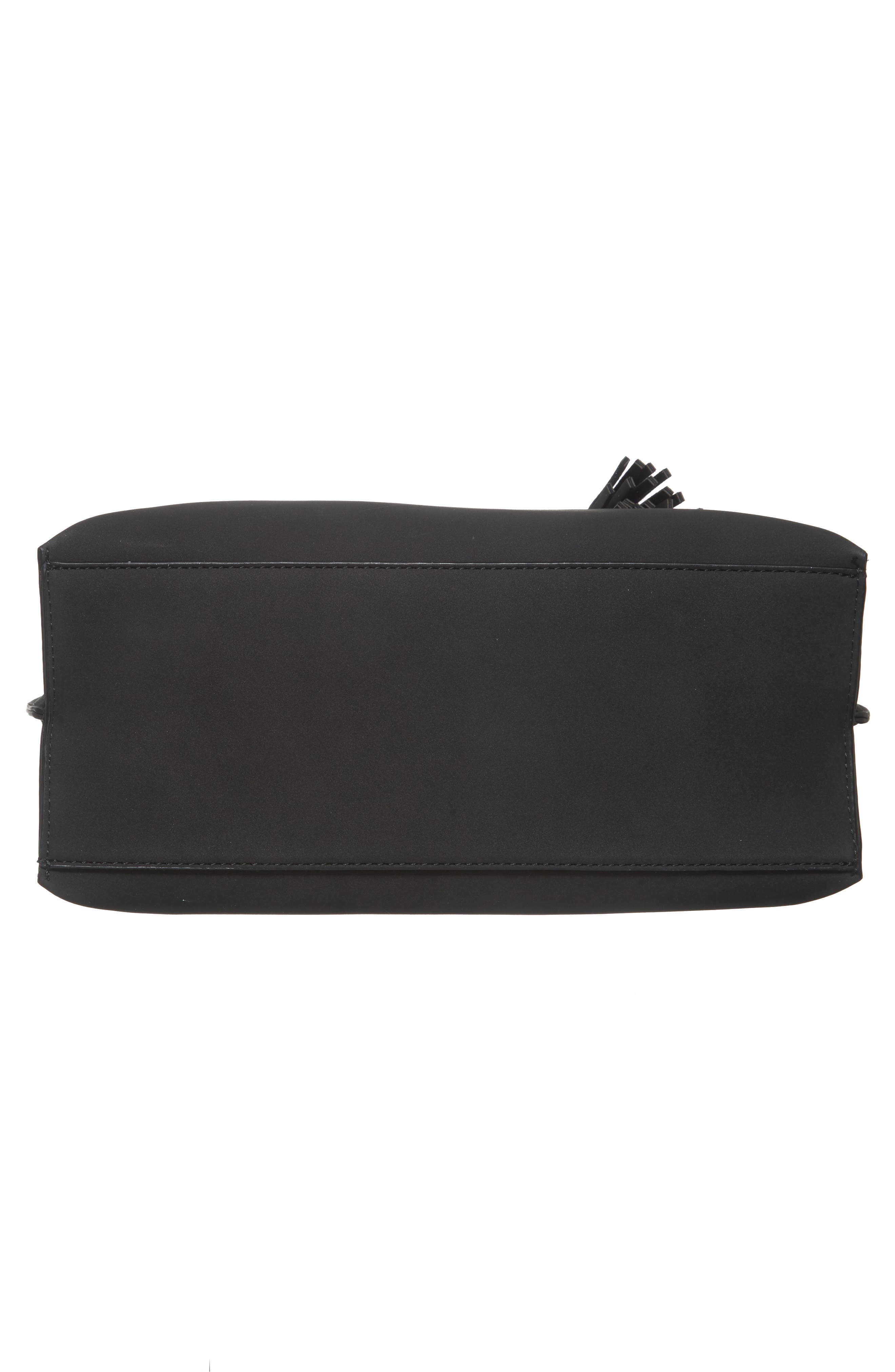Alternate Image 6  - BP. Metal Handle Faux Leather Satchel