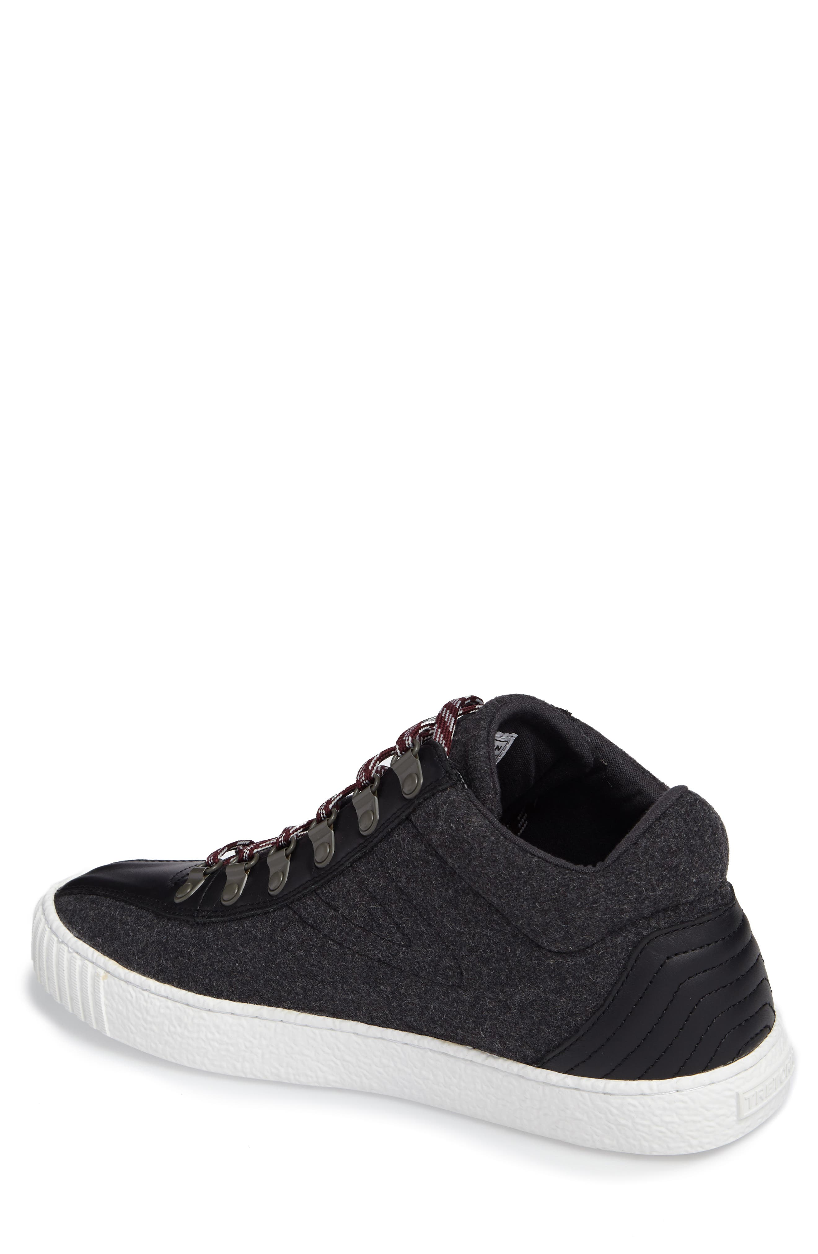 Dante Sneaker,                             Alternate thumbnail 2, color,                             Dark Grey/ Black