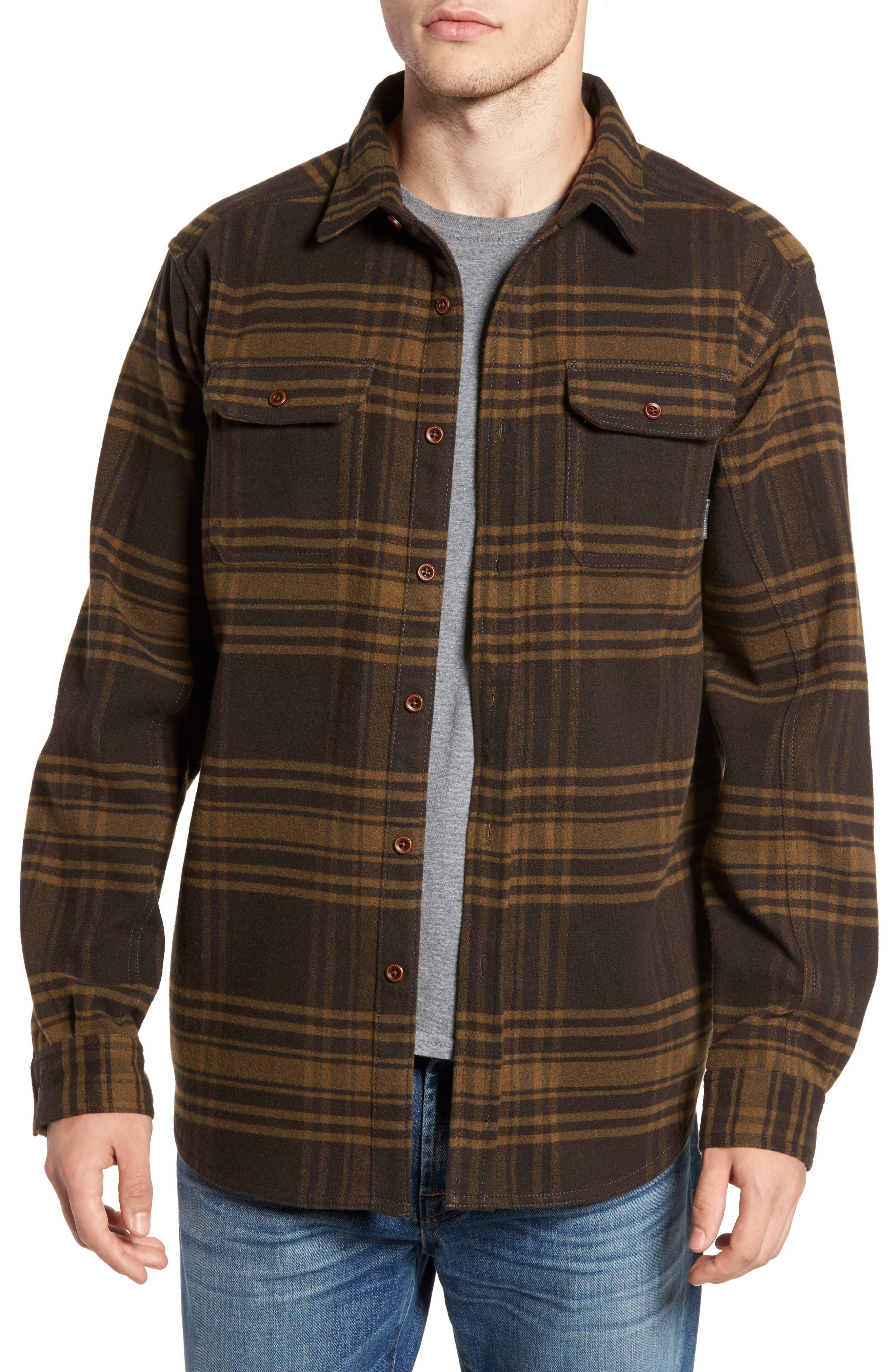 Columbia Deschutes River™ Heavyweight Flannel Shirt Jacket