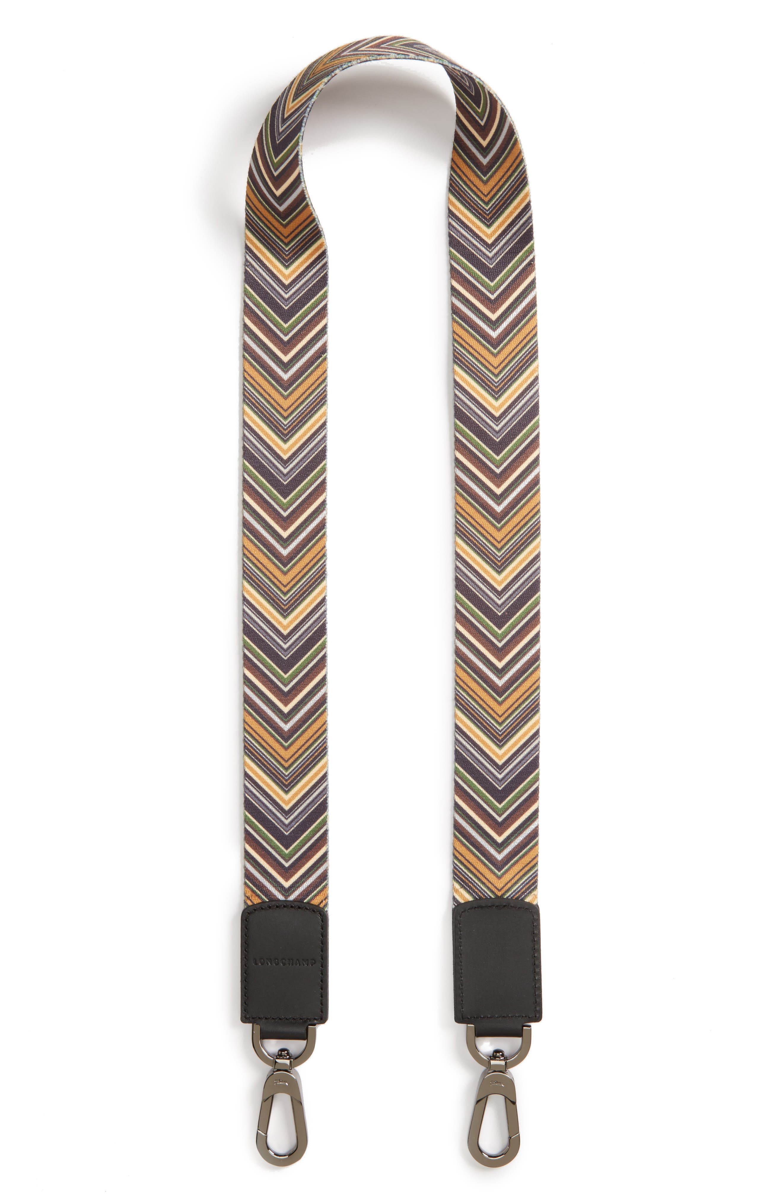 Op Art Guitar Strap,                             Main thumbnail 1, color,                             Khaki