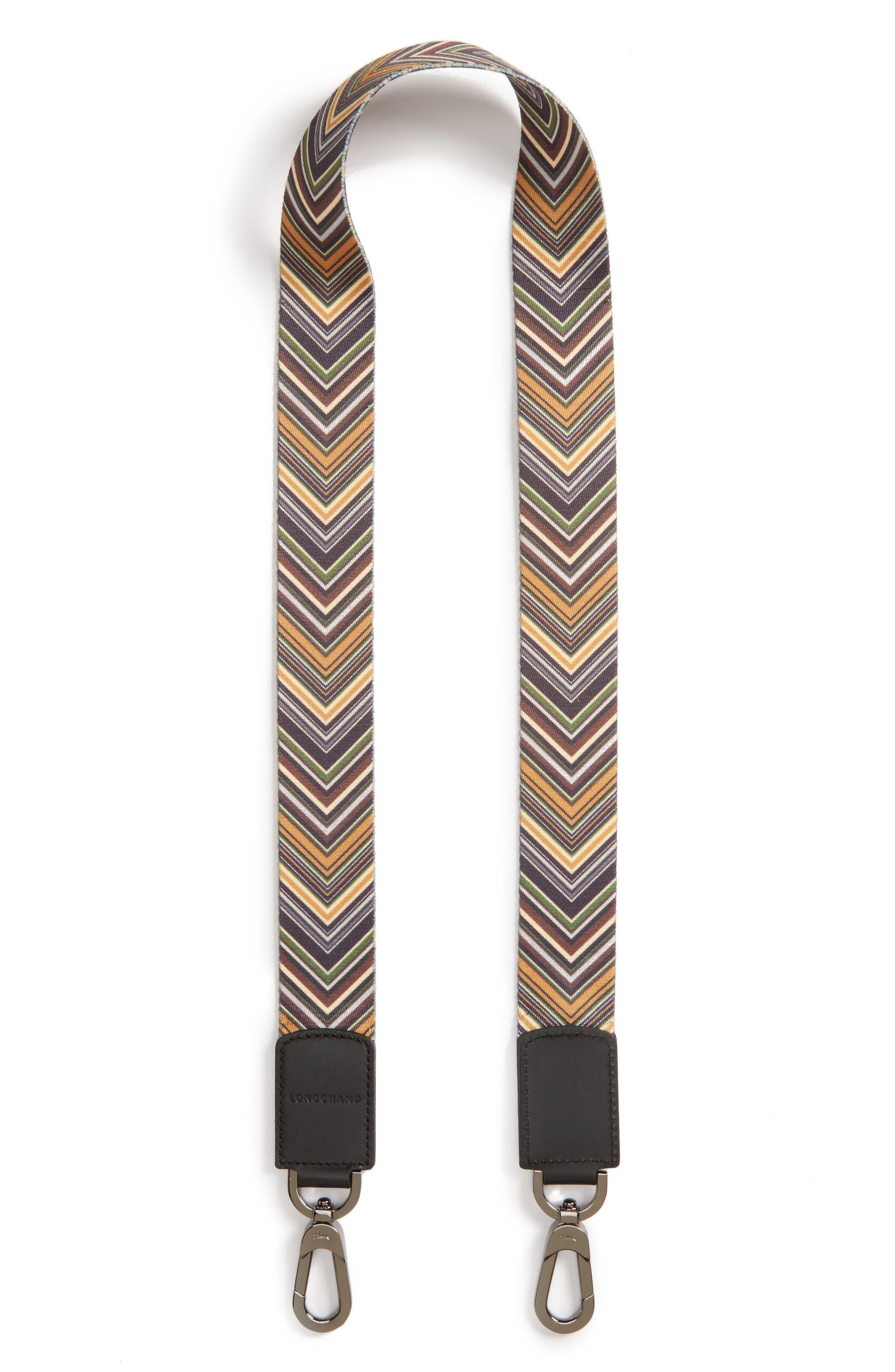 Longchamp Op Art Guitar Strap