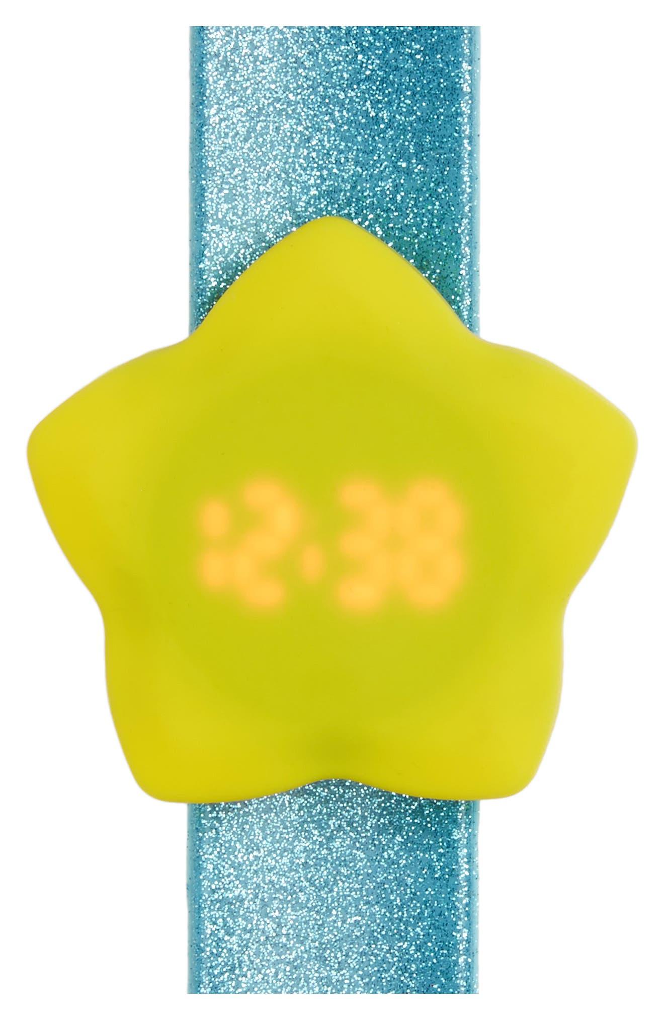 Titanium Star LED Slap Watch (Girls)