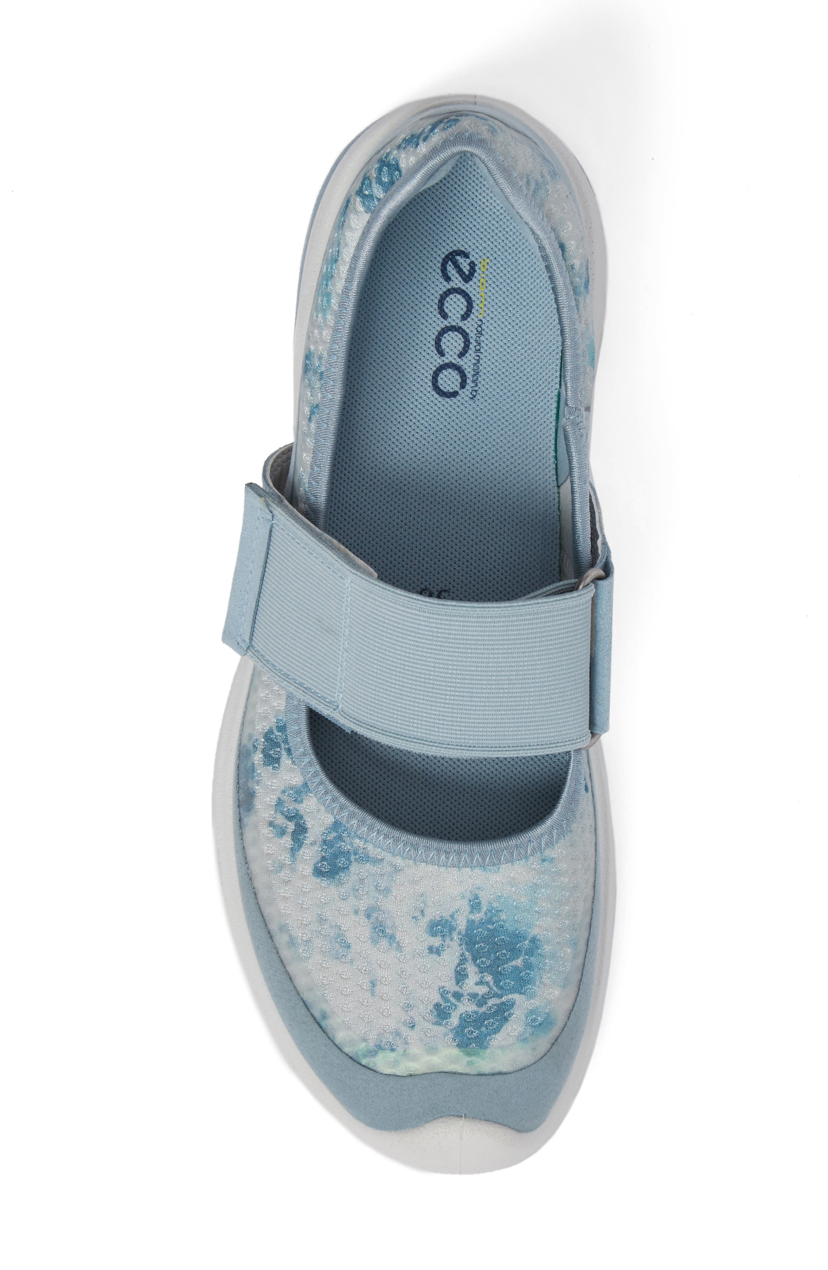 BIOM Amrap Mary Jane Band Flat,                             Alternate thumbnail 5, color,                             Arona/ Biscaya Fabric