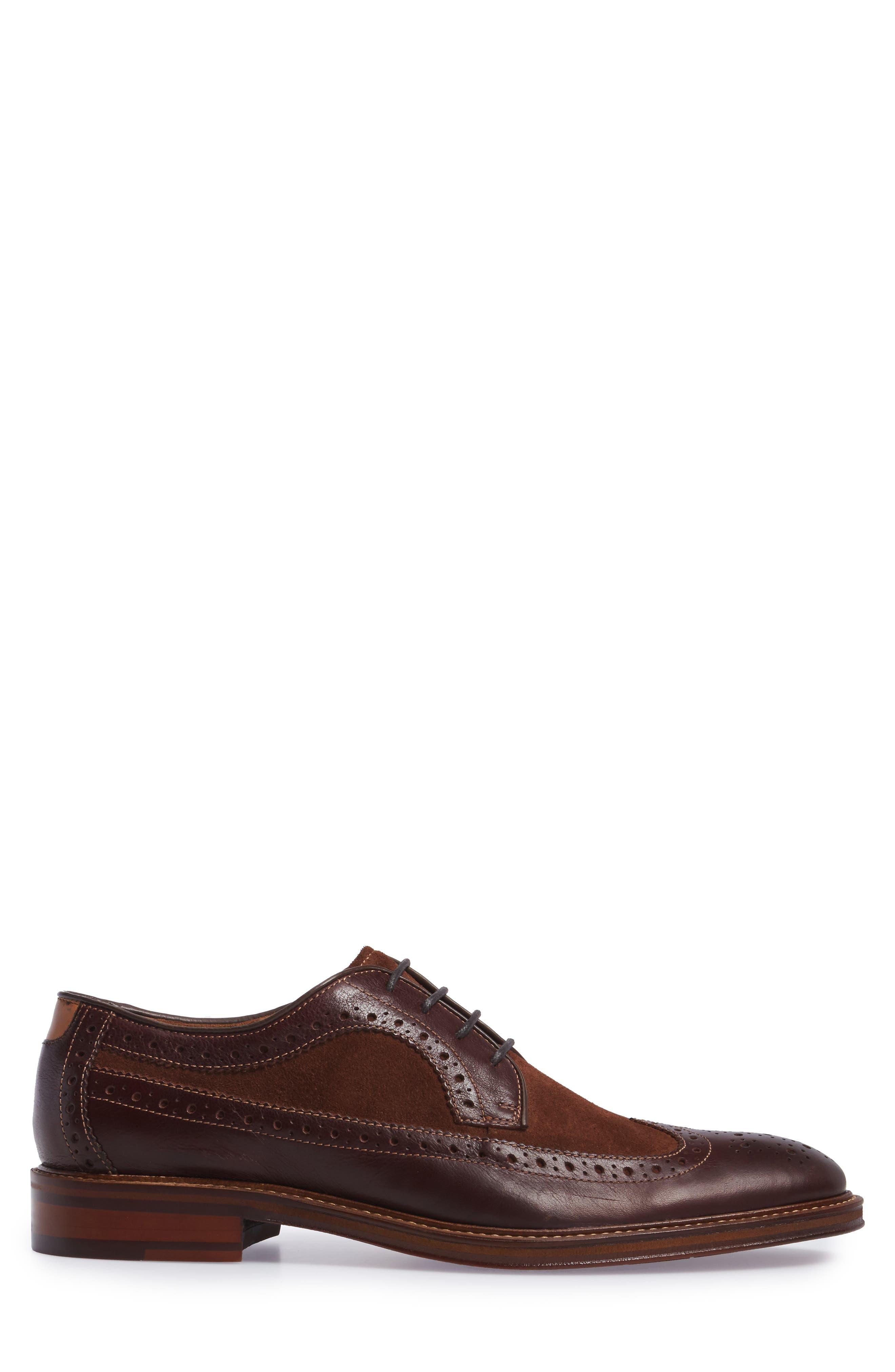 Alternate Image 3  - Johnston & Murphy Warner Spectator Shoe (Men)