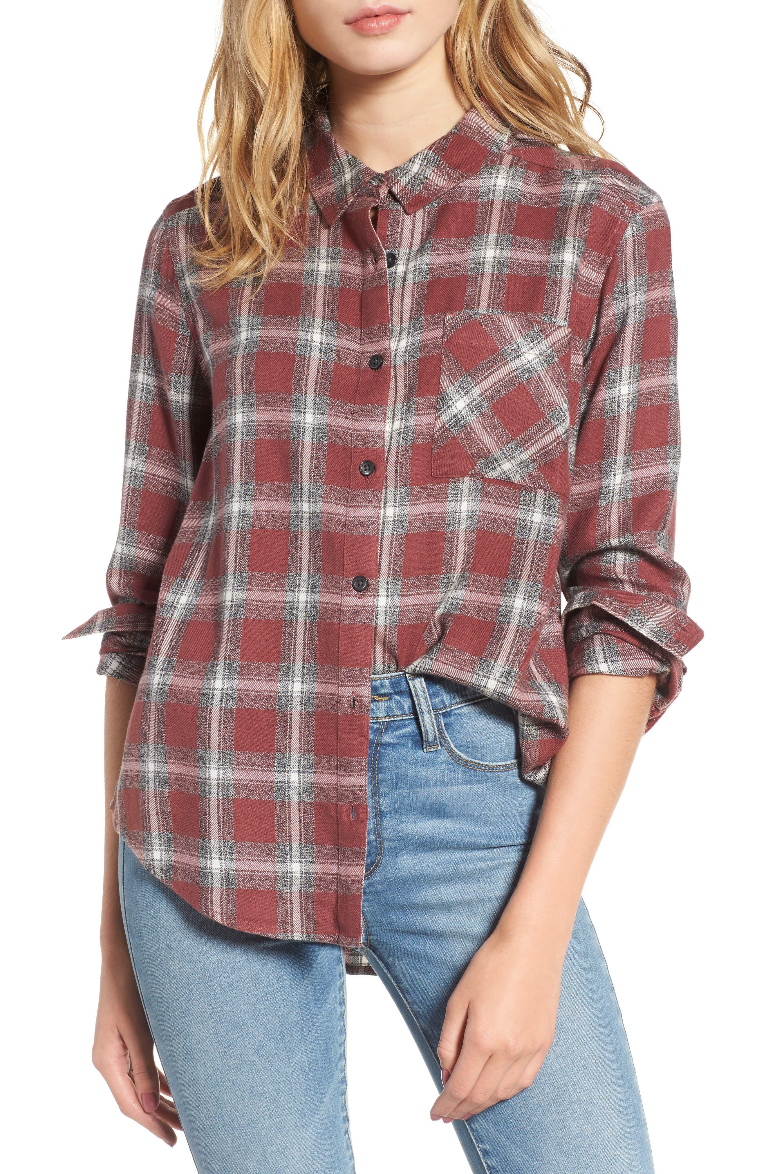 BP. Mélange Flannel Shirt
