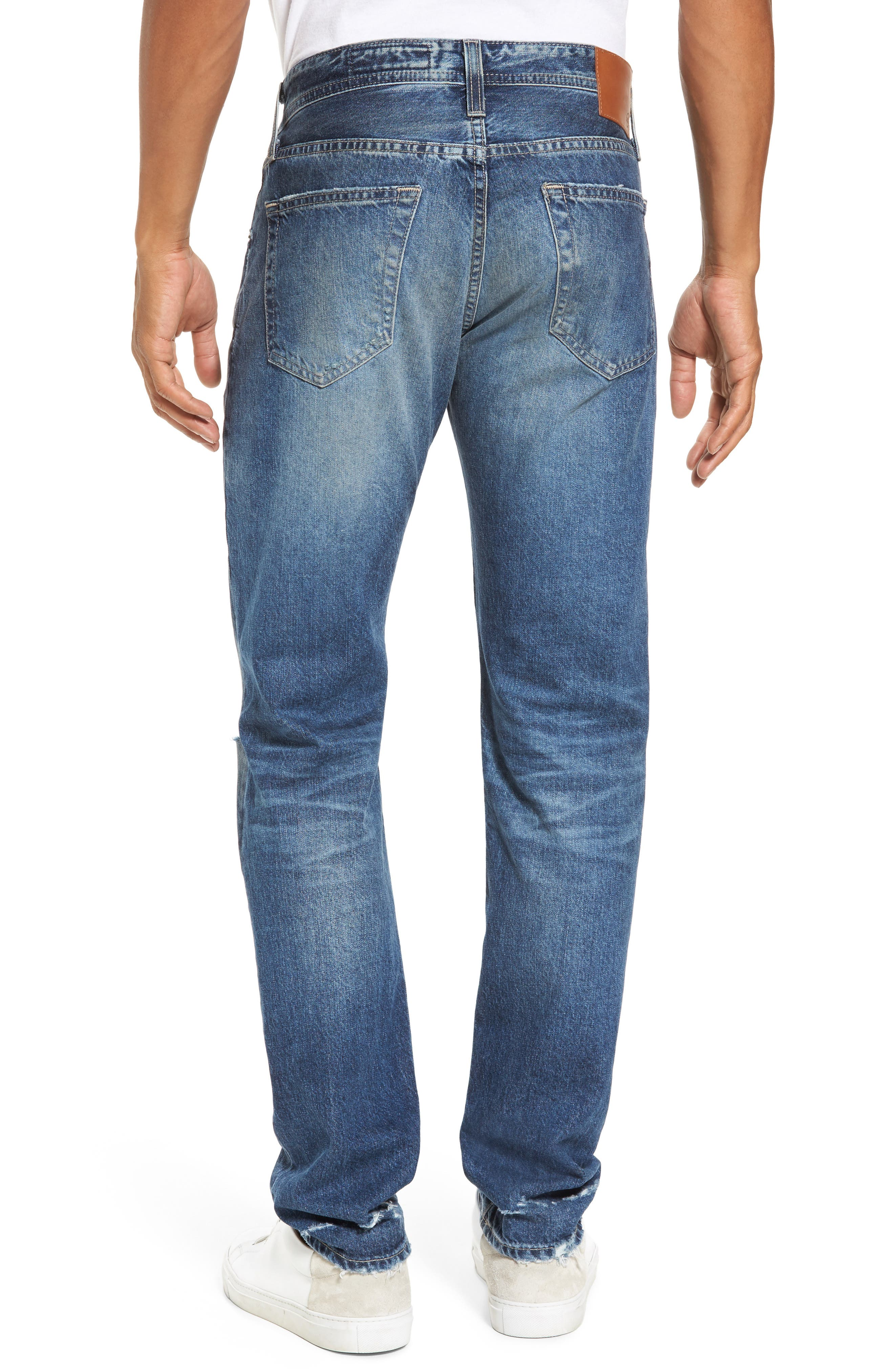 Tellis Slim Fit Jeans,                             Alternate thumbnail 2, color,                             20 Years Grunge