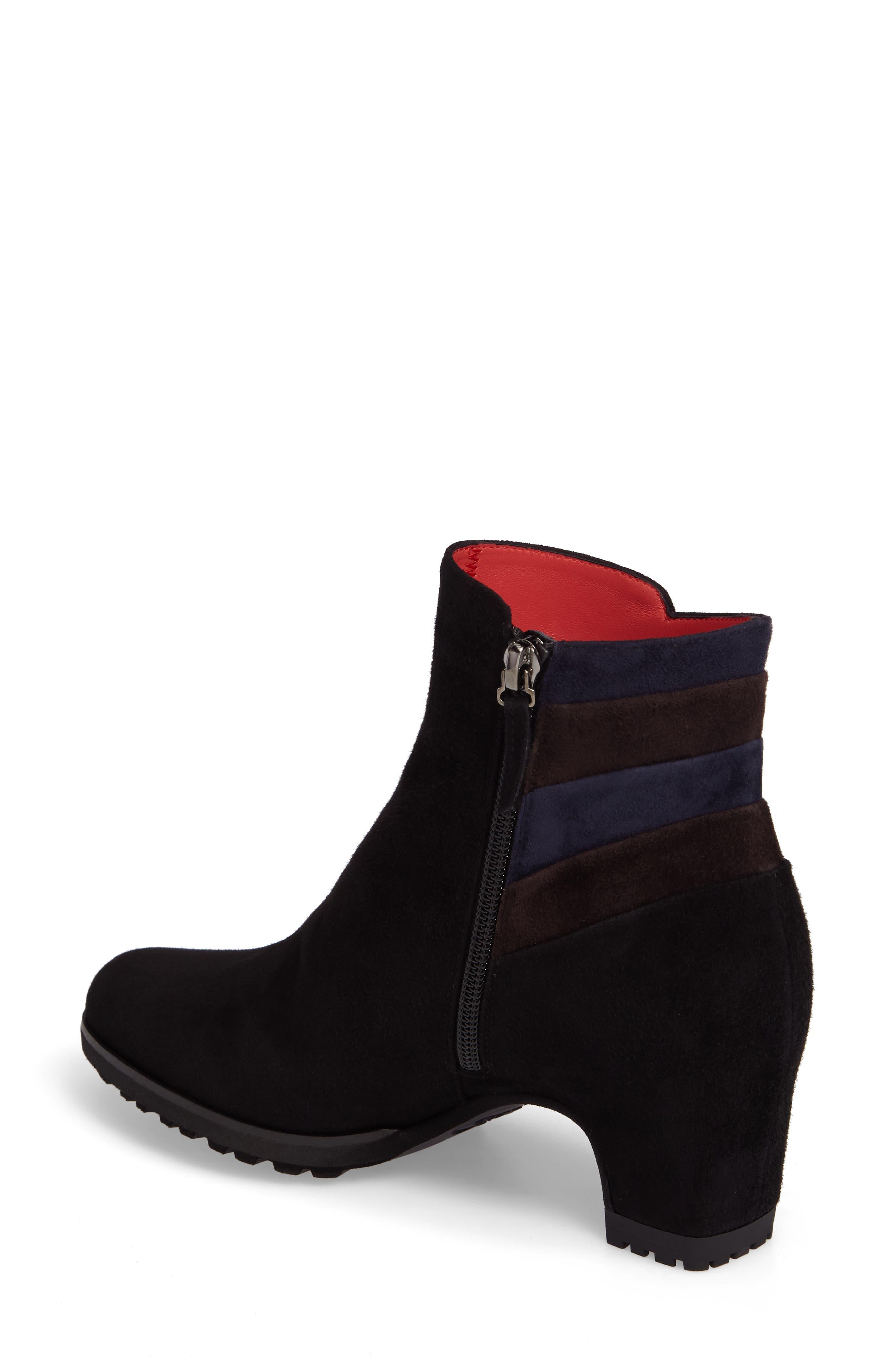 Alternate Image 2  - Pas de Rouge Block Heel Bootie (Women)