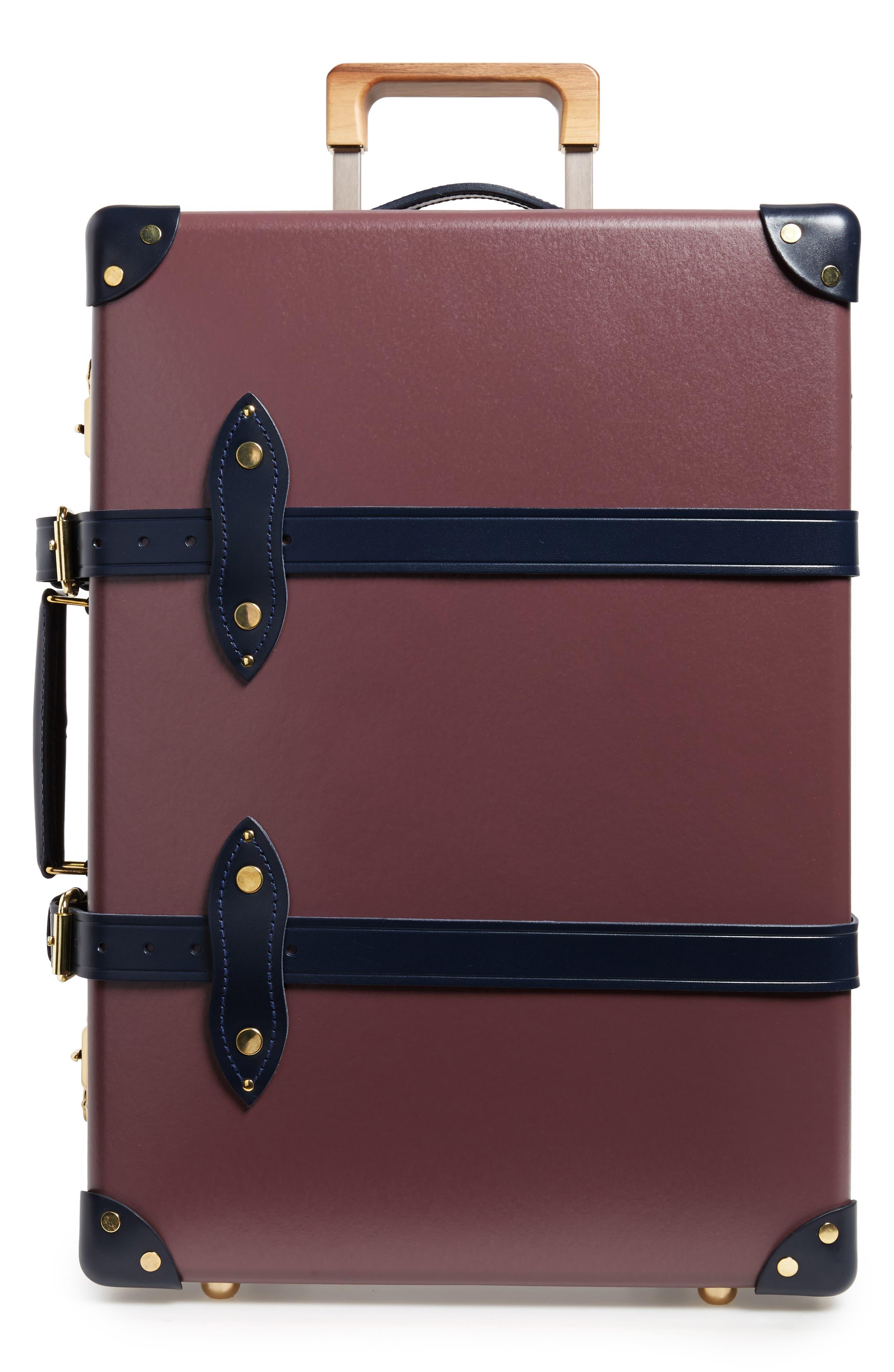 Brinjal 21-Inch Hardshell Travel Trolley Case,                         Main,                         color, Brinjal