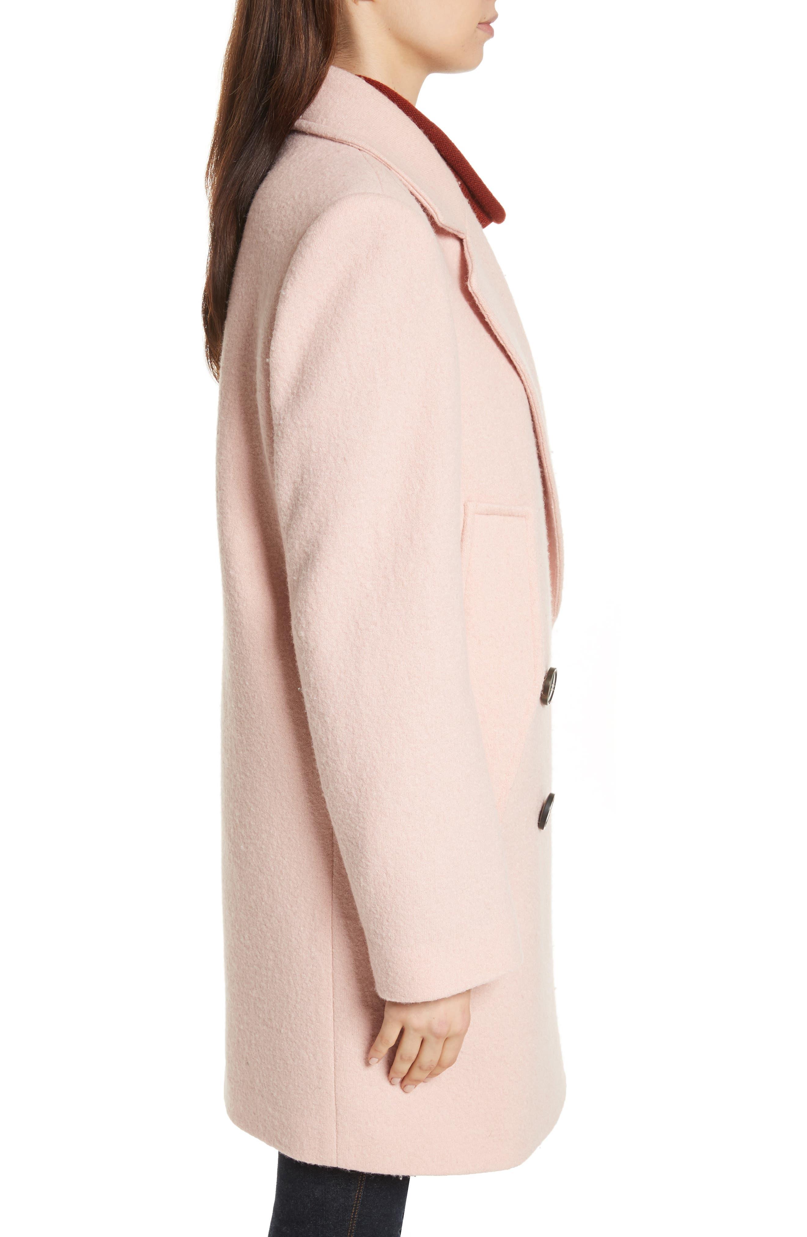 Alternate Image 3  - Theory Wool Bouclé Coat