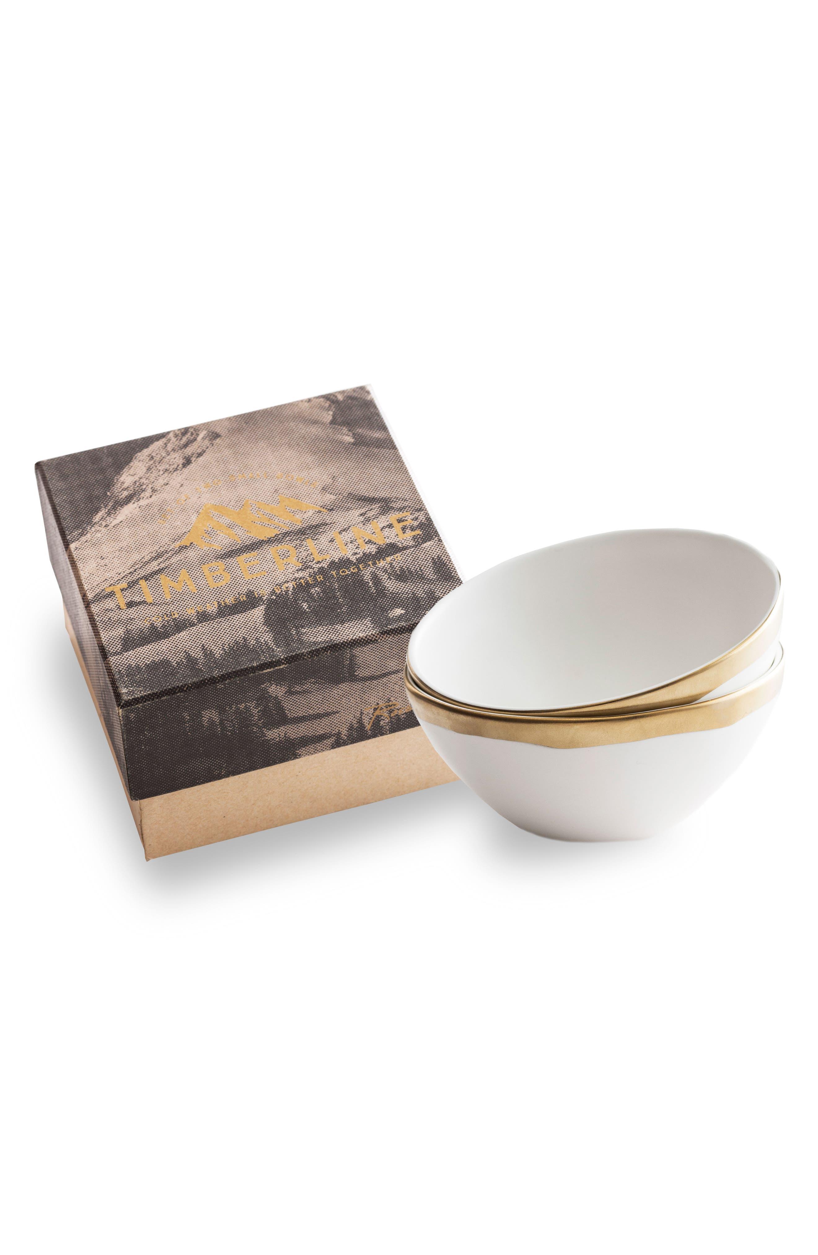 Rosanna Birds Set of 2 Porcelain Bowls