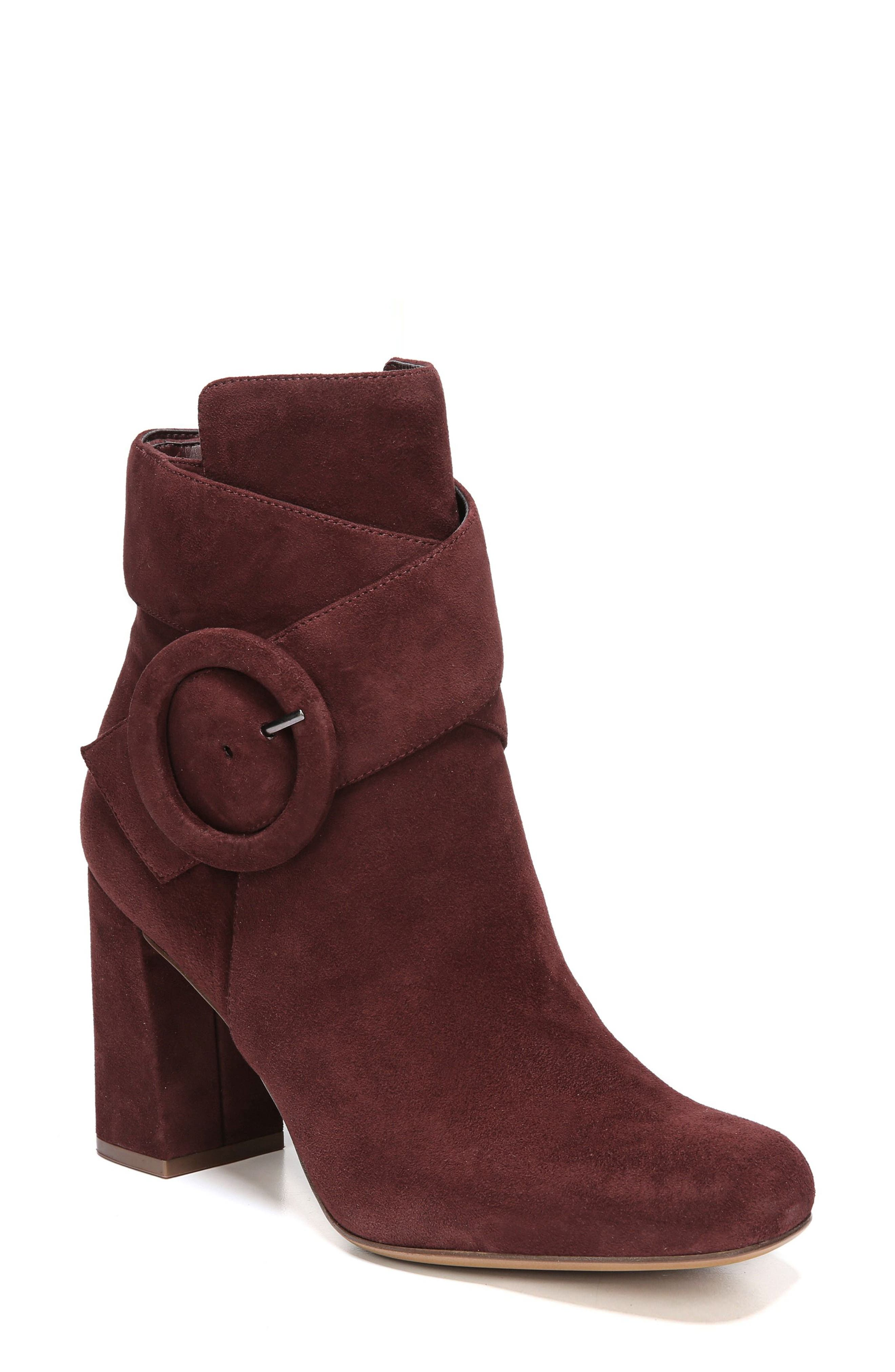 Nautralizer Rae Bootie,                             Main thumbnail 1, color,                             Bordo Leather