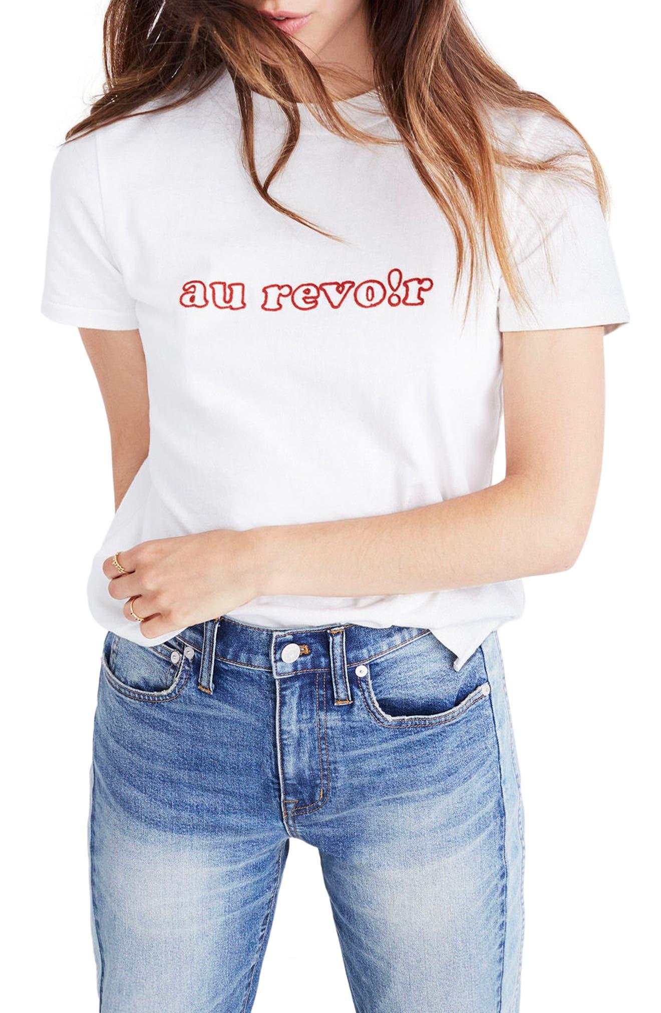 Main Image - Madewell Au Revoir Tee