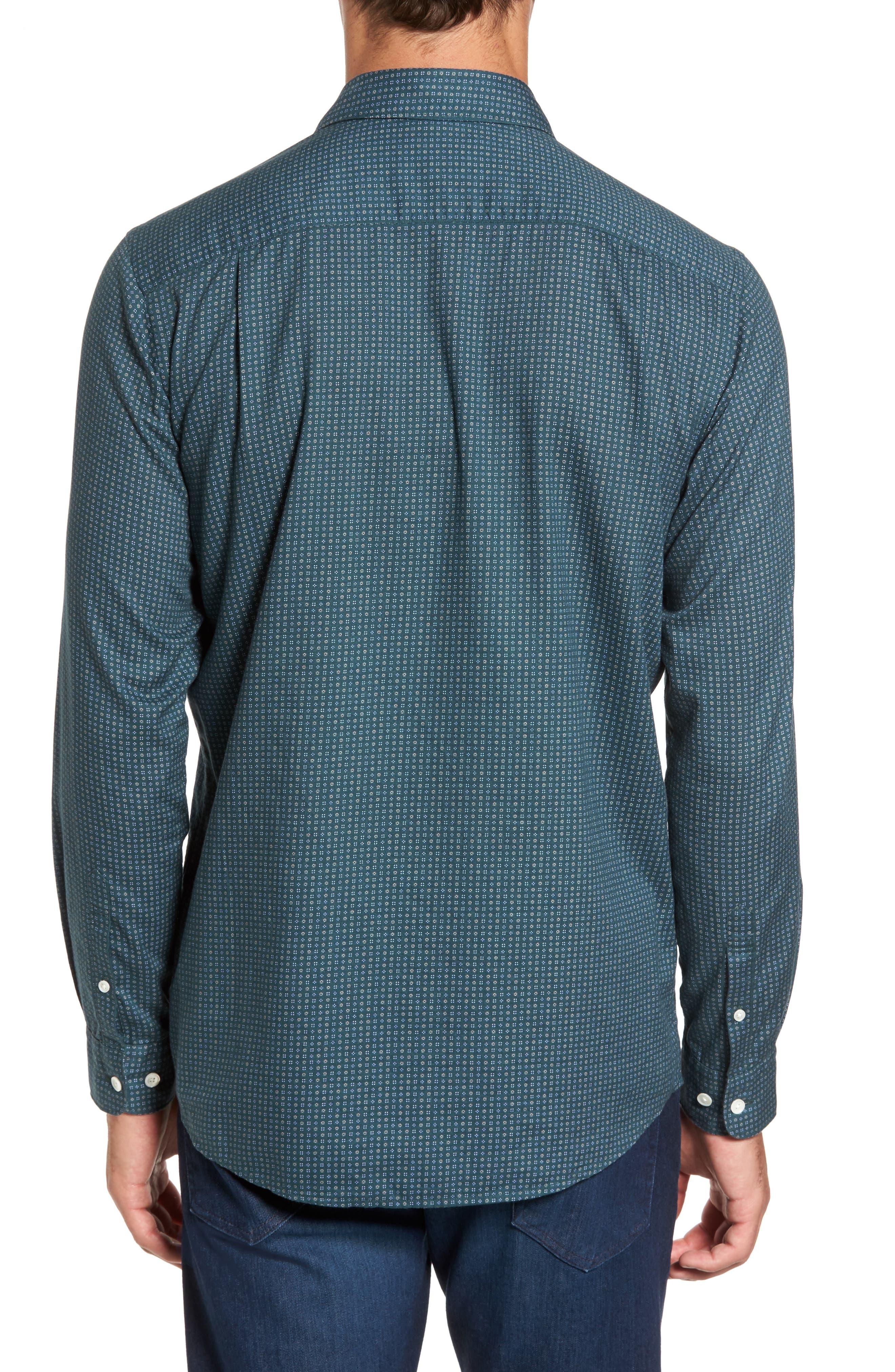 Alternate Image 2  - Rodd & Gunn Oreti Beach Sports Fit Floral Print Sport Shirt
