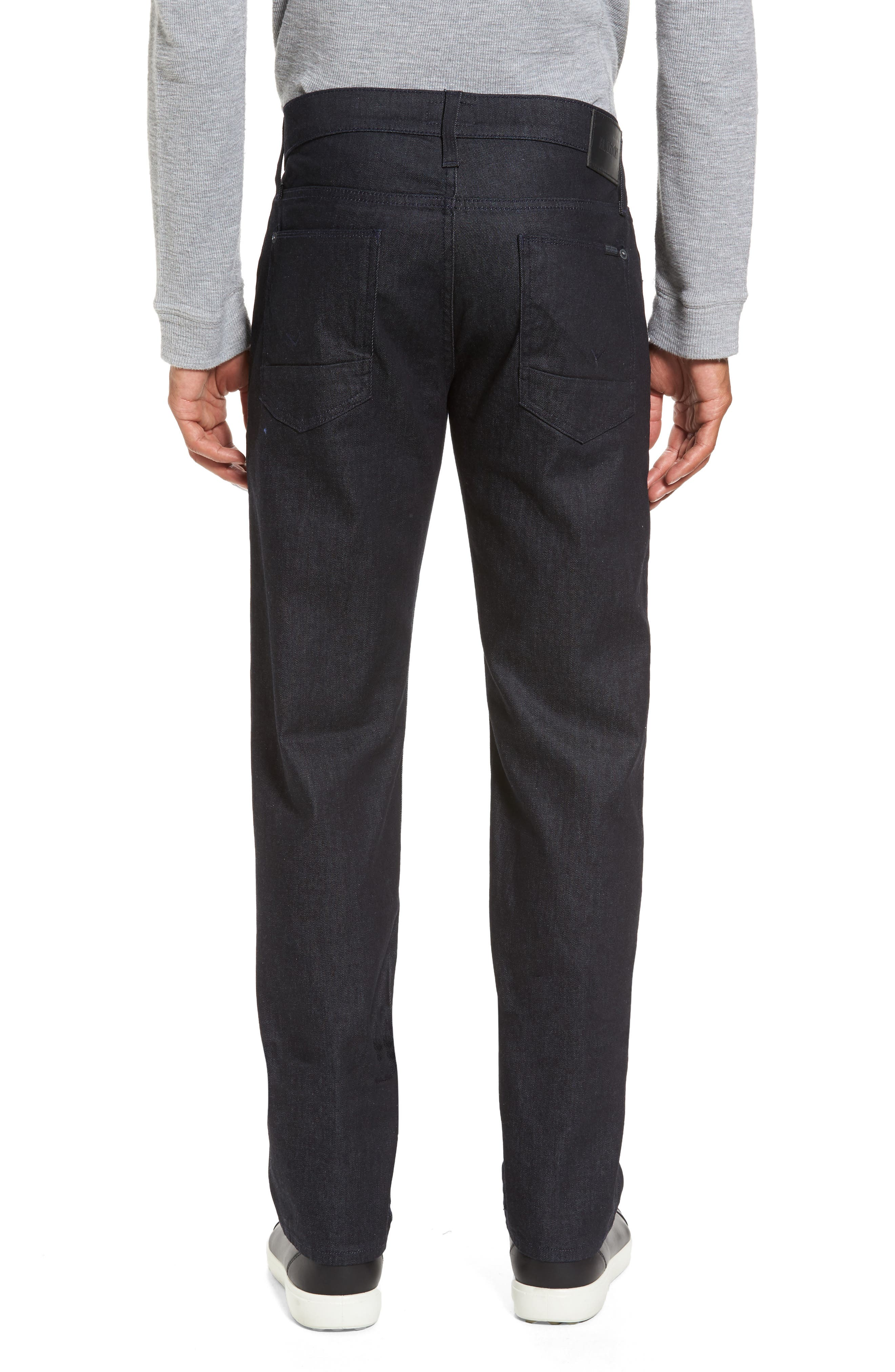 Alternate Image 2  - Hudson Jeans Byron Slim Straight Leg Jeans (Bounty)