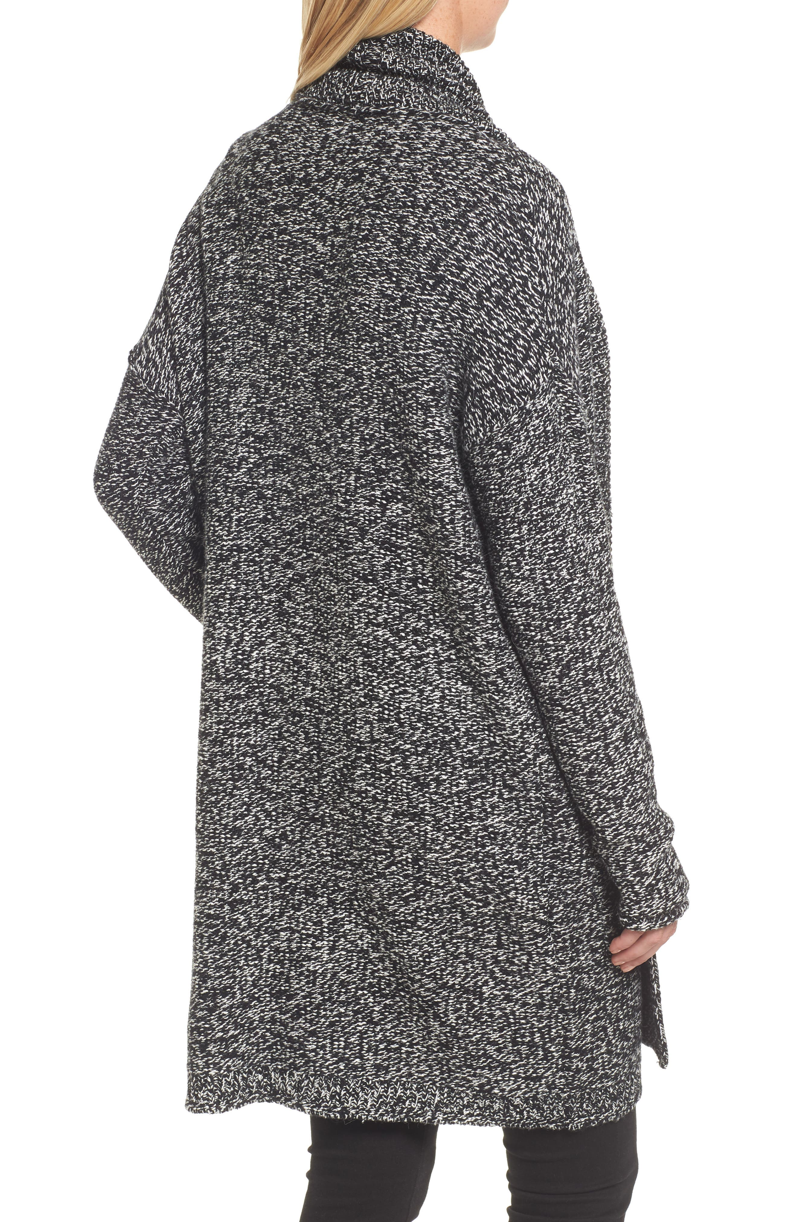 Alternate Image 2  - Caslon® Shawl Collar Cardigan (Regular & Petite)