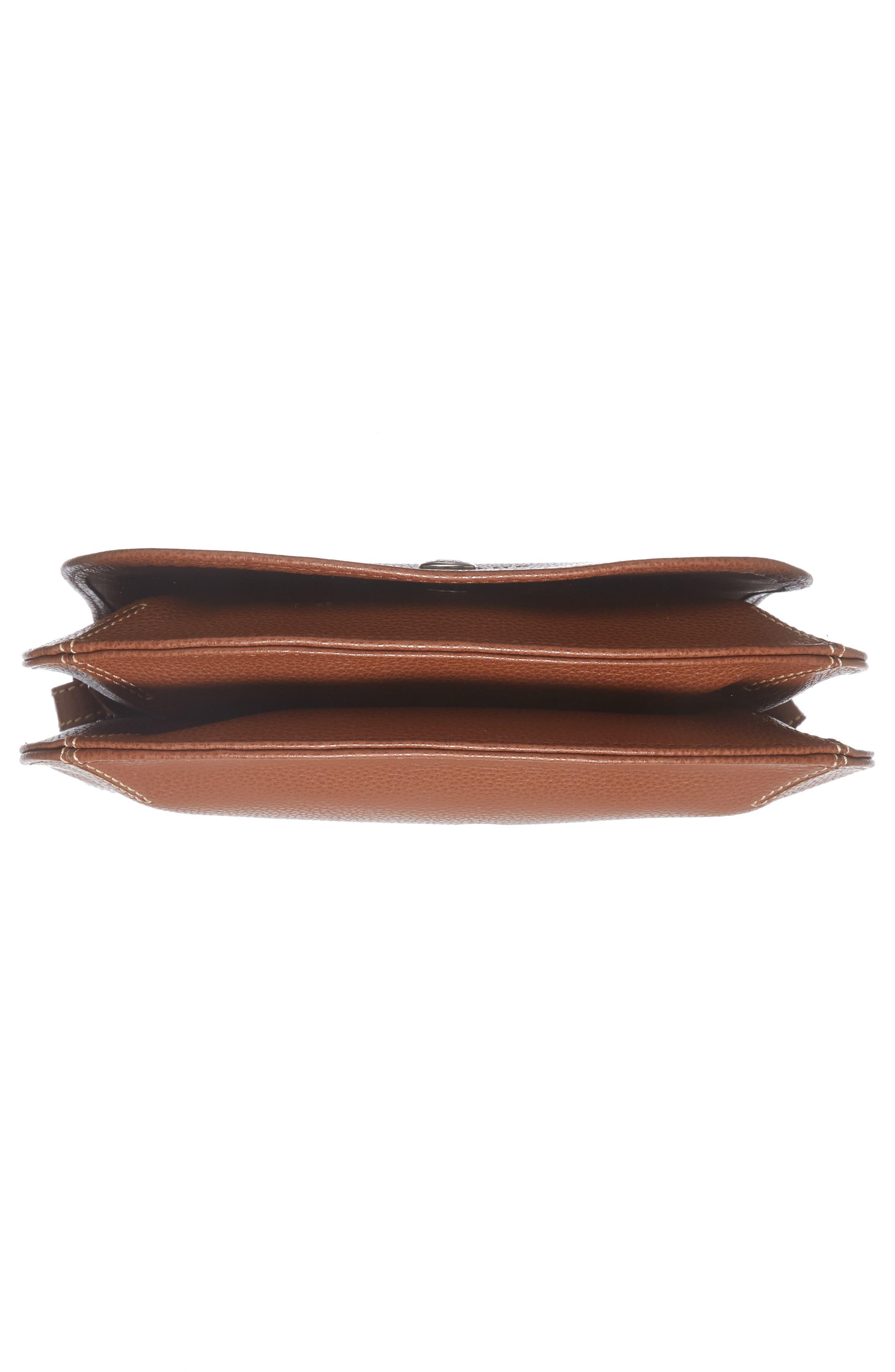 Alternate Image 6  - Longchamp Small Le Foulonne Leather Crossbody Bag