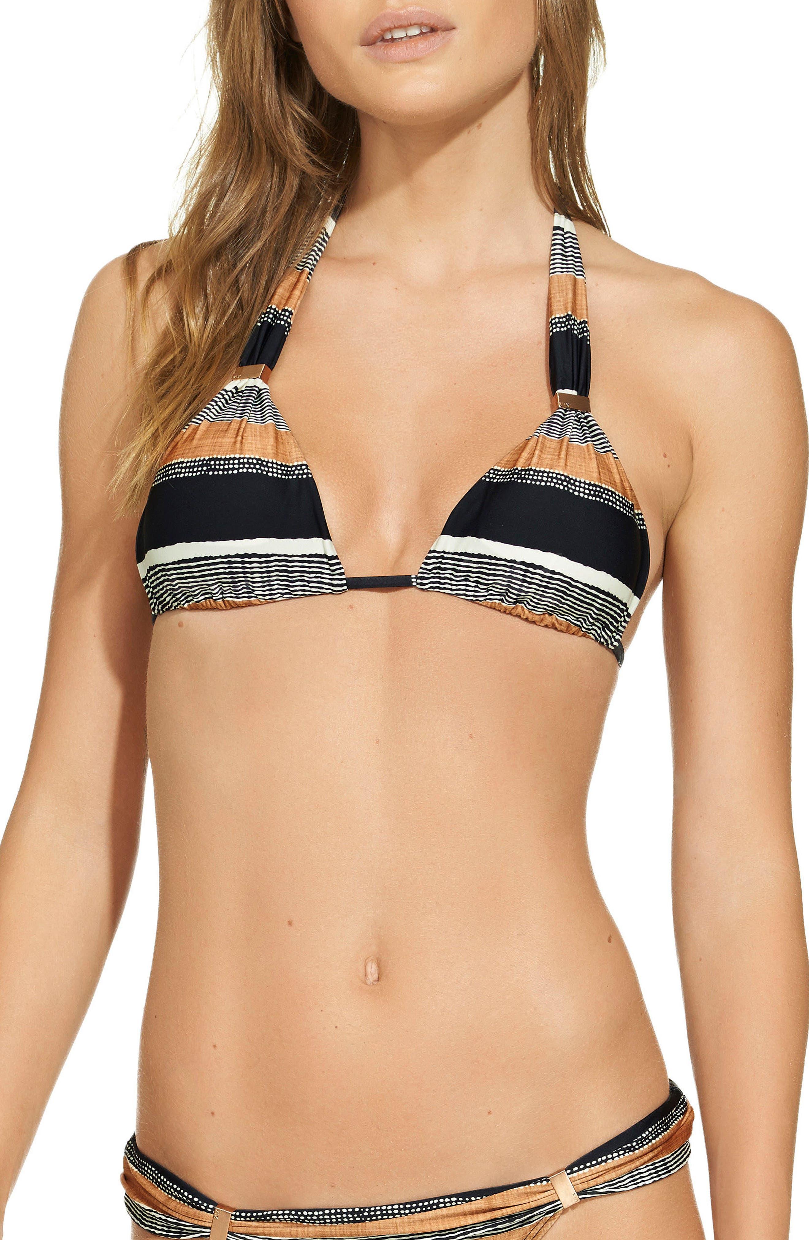 Main Image - ViX Swimwear Saona Bia Triangle Bikini Top