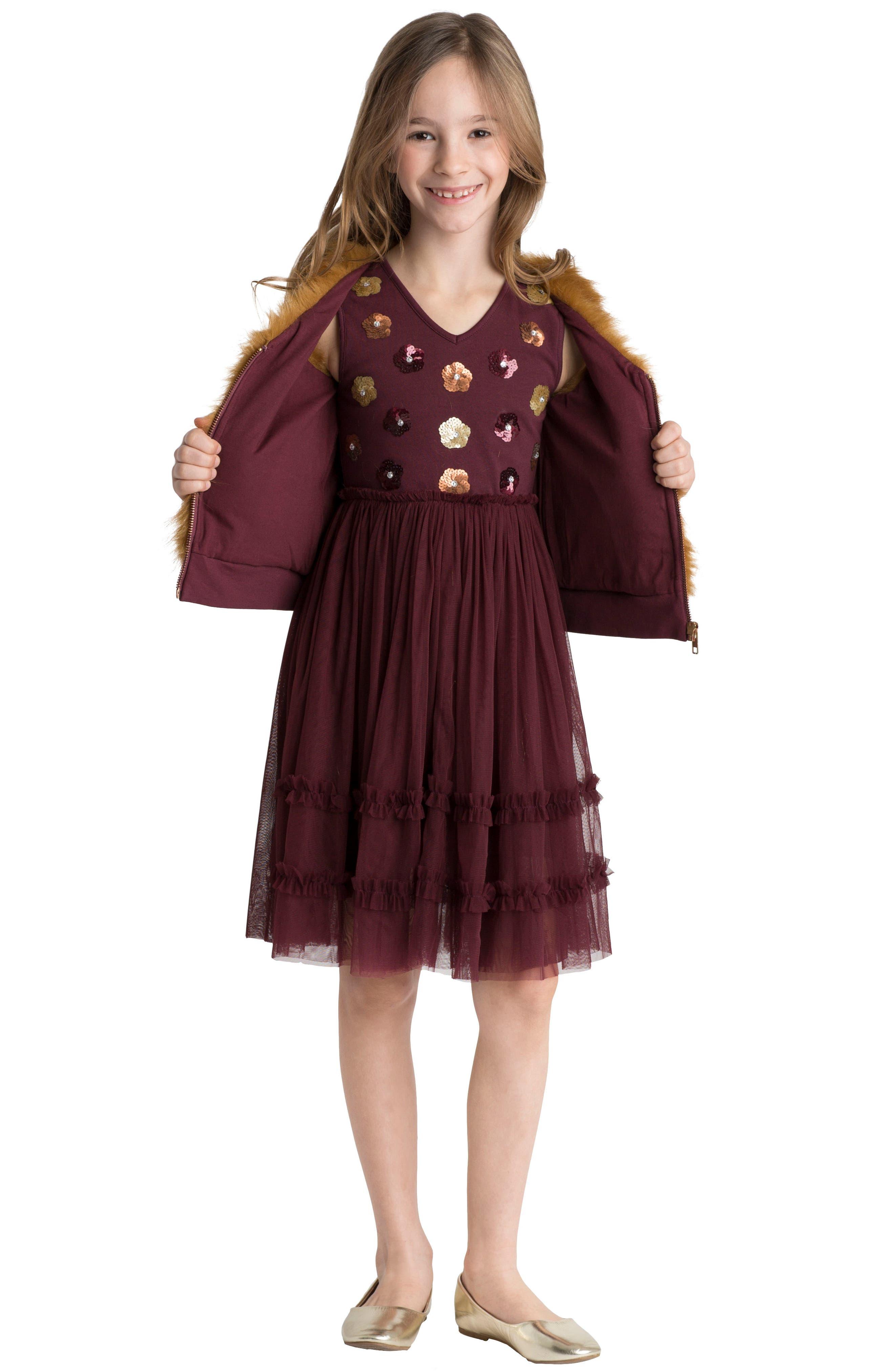 Alternate Image 4  - Masalababy Liana Dress (Toddler Girls, Little Girls & Big Girls)