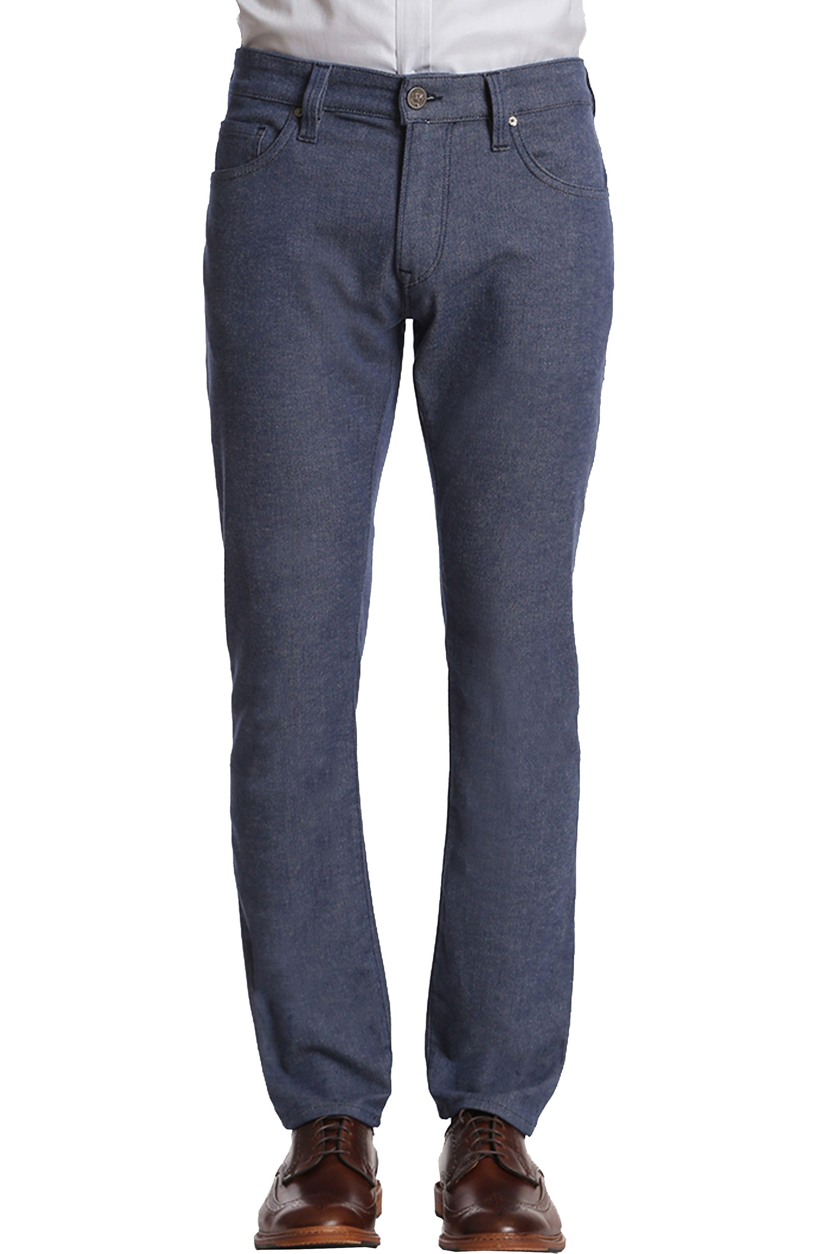 34 Heritage Charisma Relaxed Straight Leg Jeans (Indigo Winter Twill)