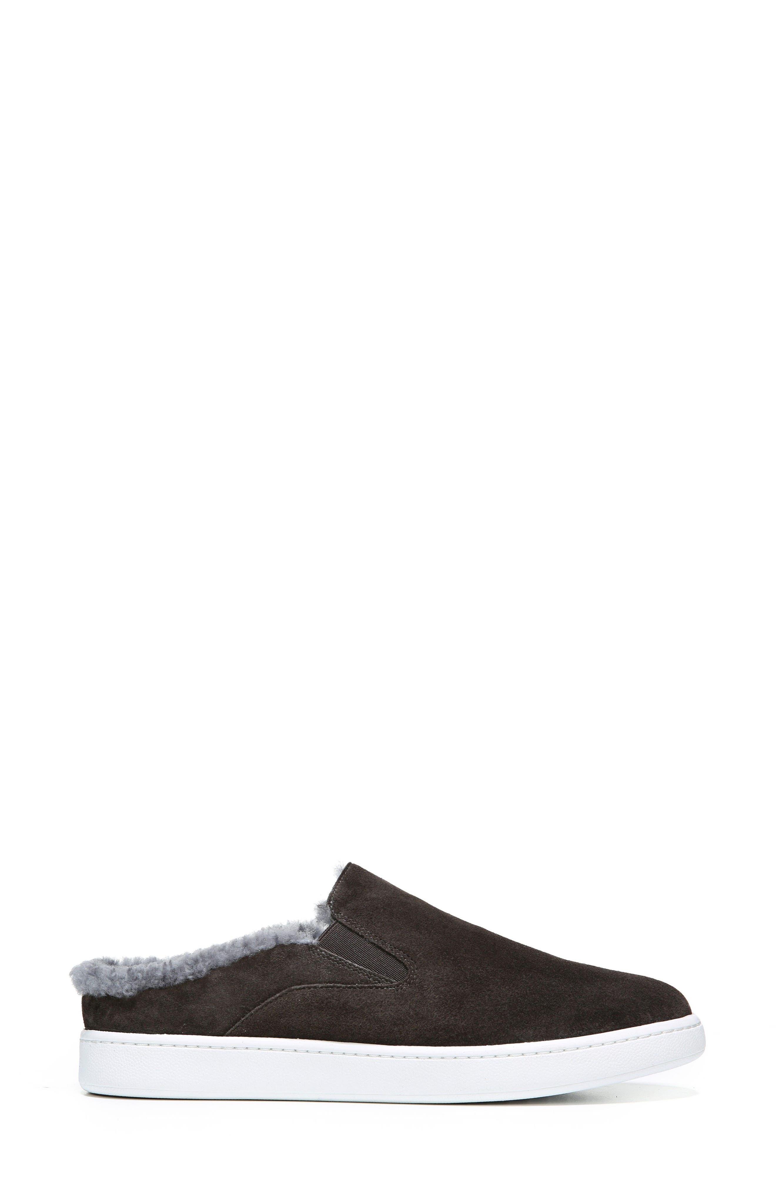 Alternate Image 3  - Vince Verrell Genuine Shearling Slip-On Sneaker (Women)