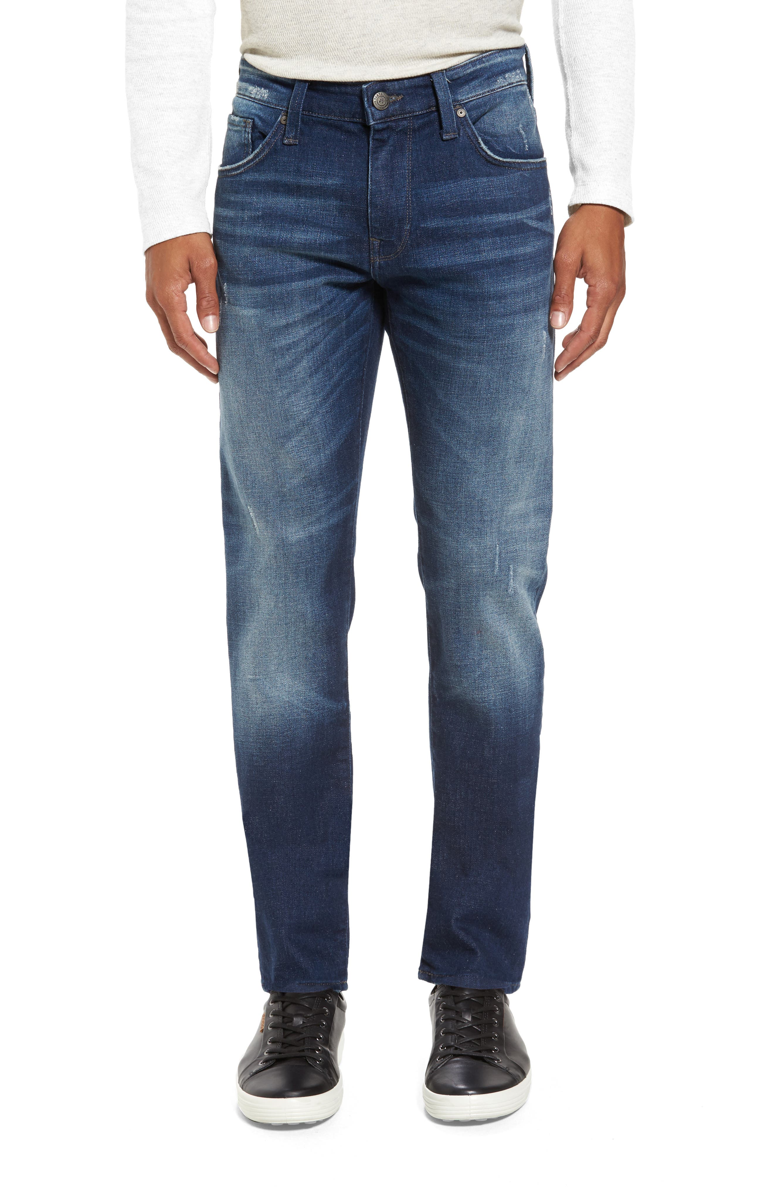 Alternate Image 1 Selected - Mavi Jeans Jake Easy Slim Fit Jeans (Dark Brooklyn)