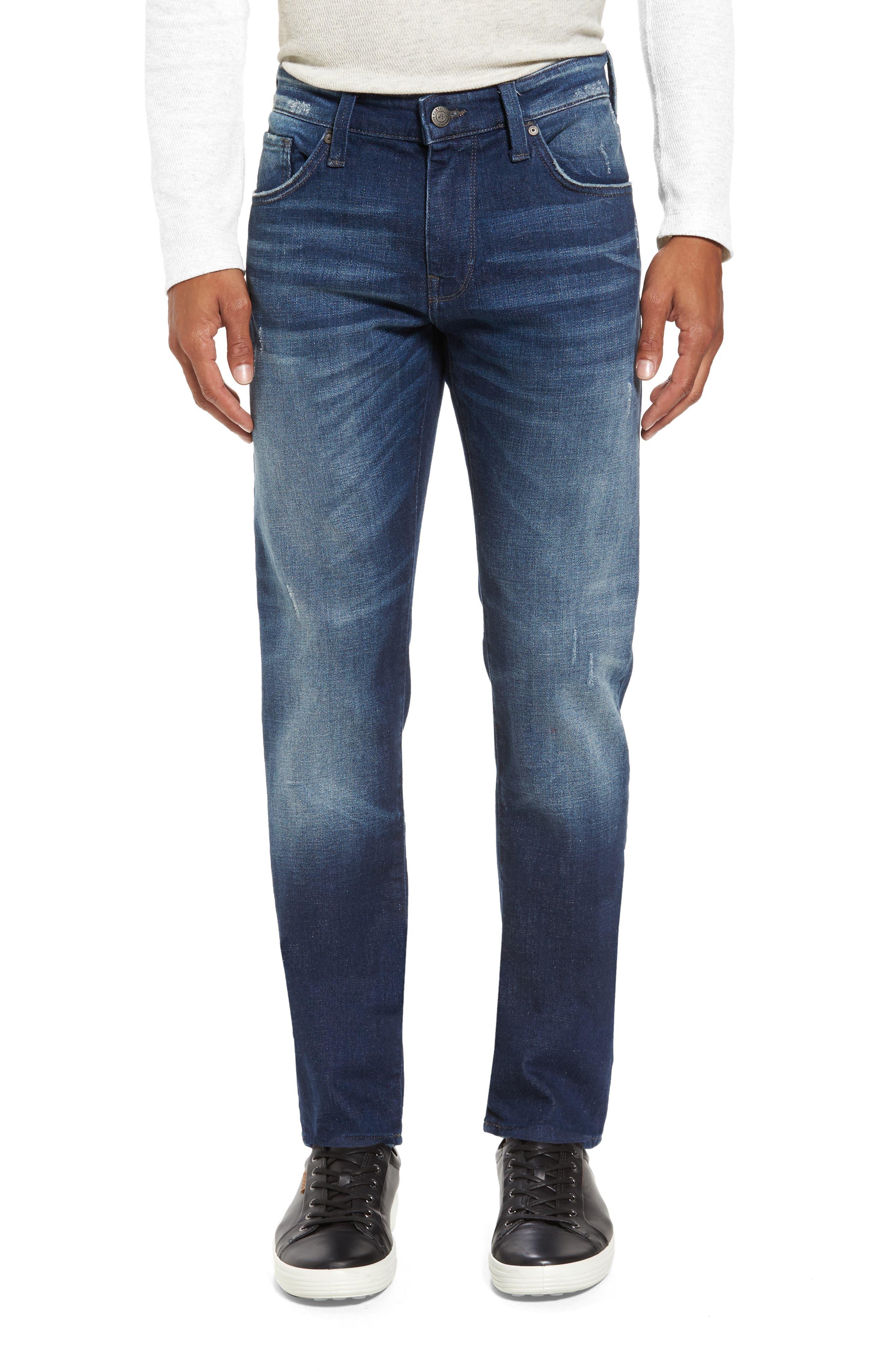 Main Image - Mavi Jeans Jake Easy Slim Fit Jeans (Dark Brooklyn)
