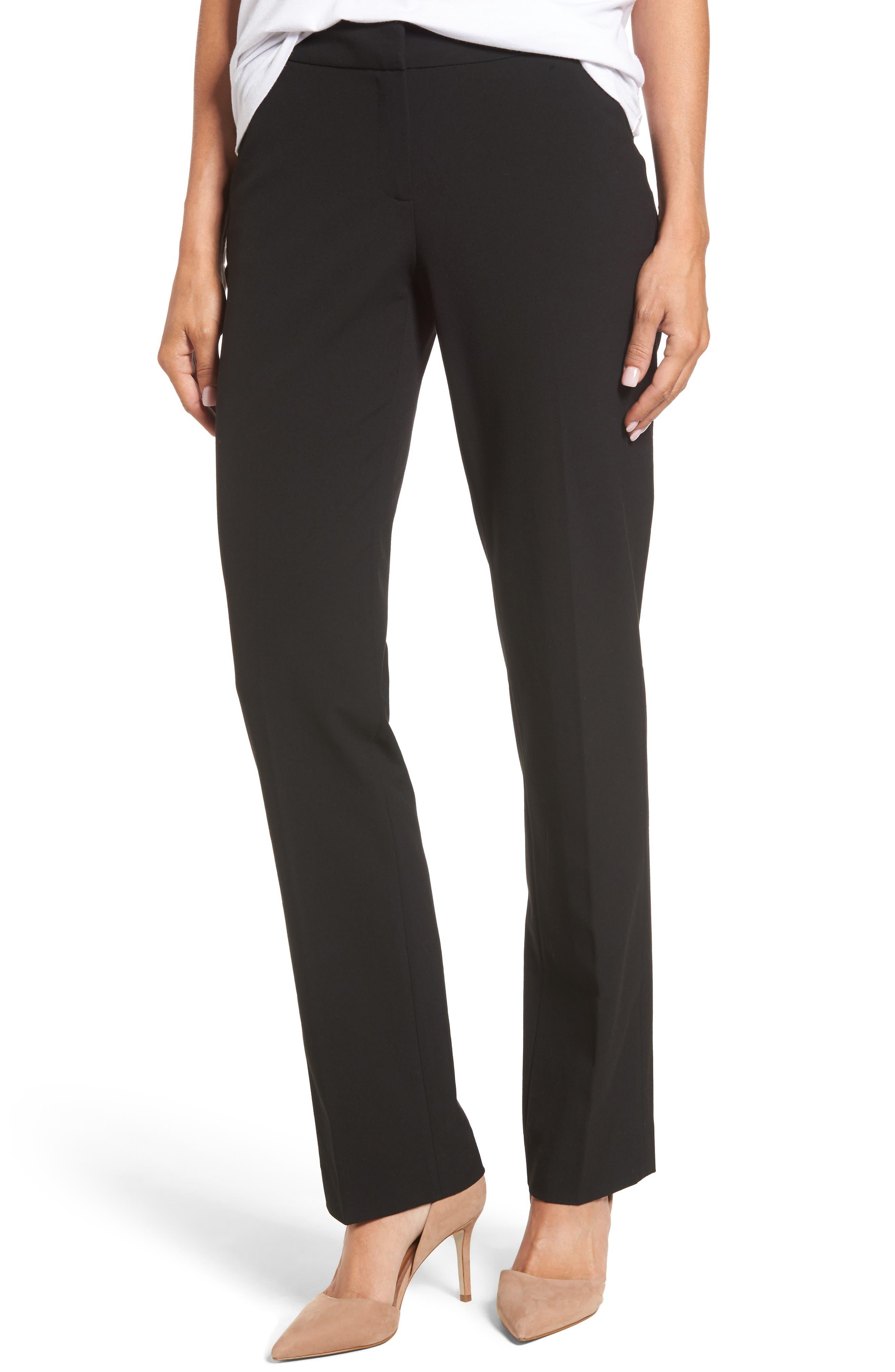Alternate Image 1 Selected - Halogen® Stovepipe Pants (Regular & Petite)