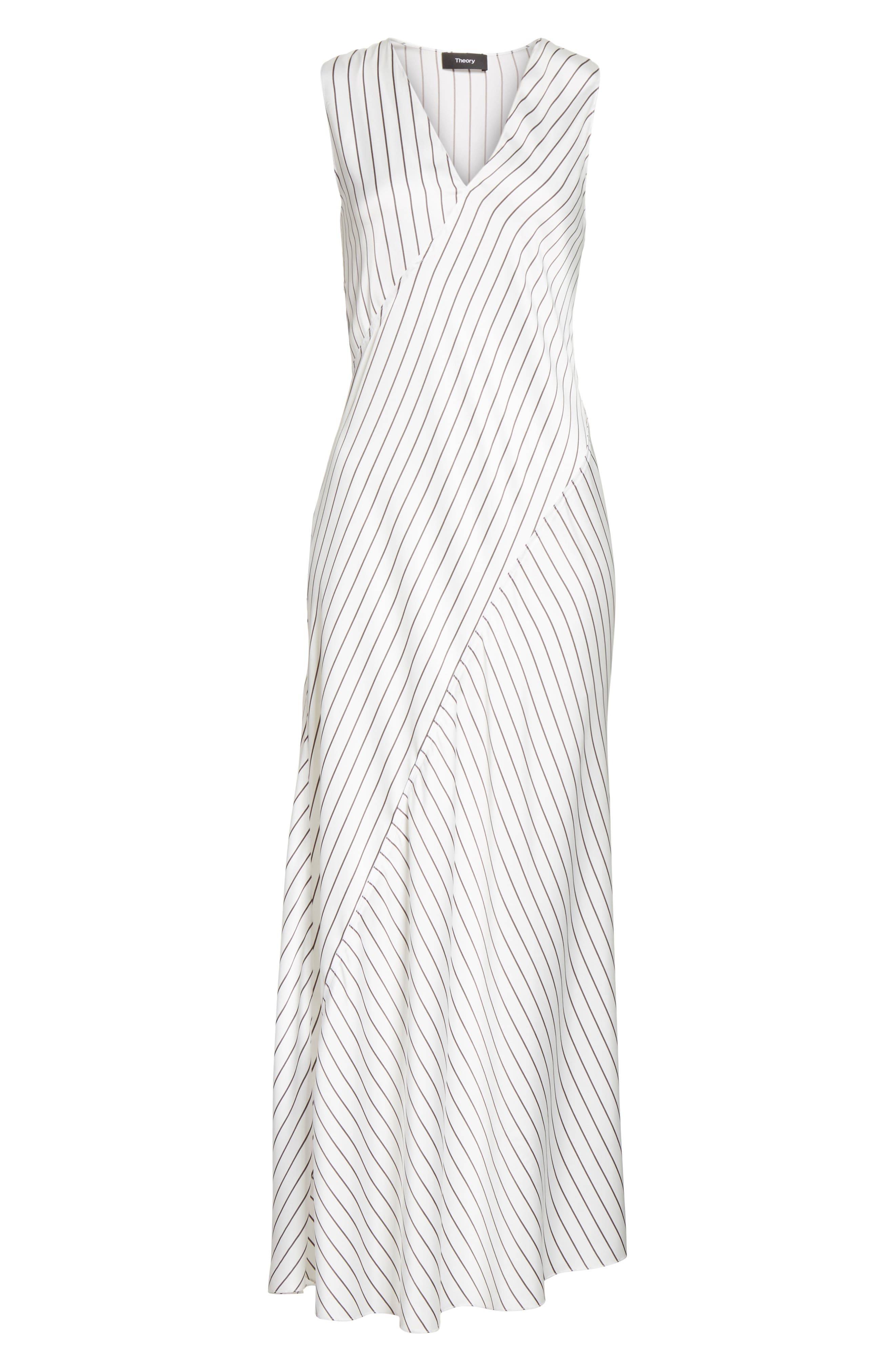 Alternate Image 6  - Theory Stripe Maxi Dress